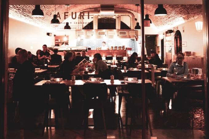 Restaurante Afuri, Lisboa, Portugal