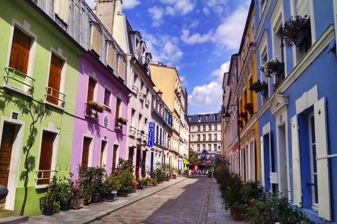 rua Crémieux, em Paris