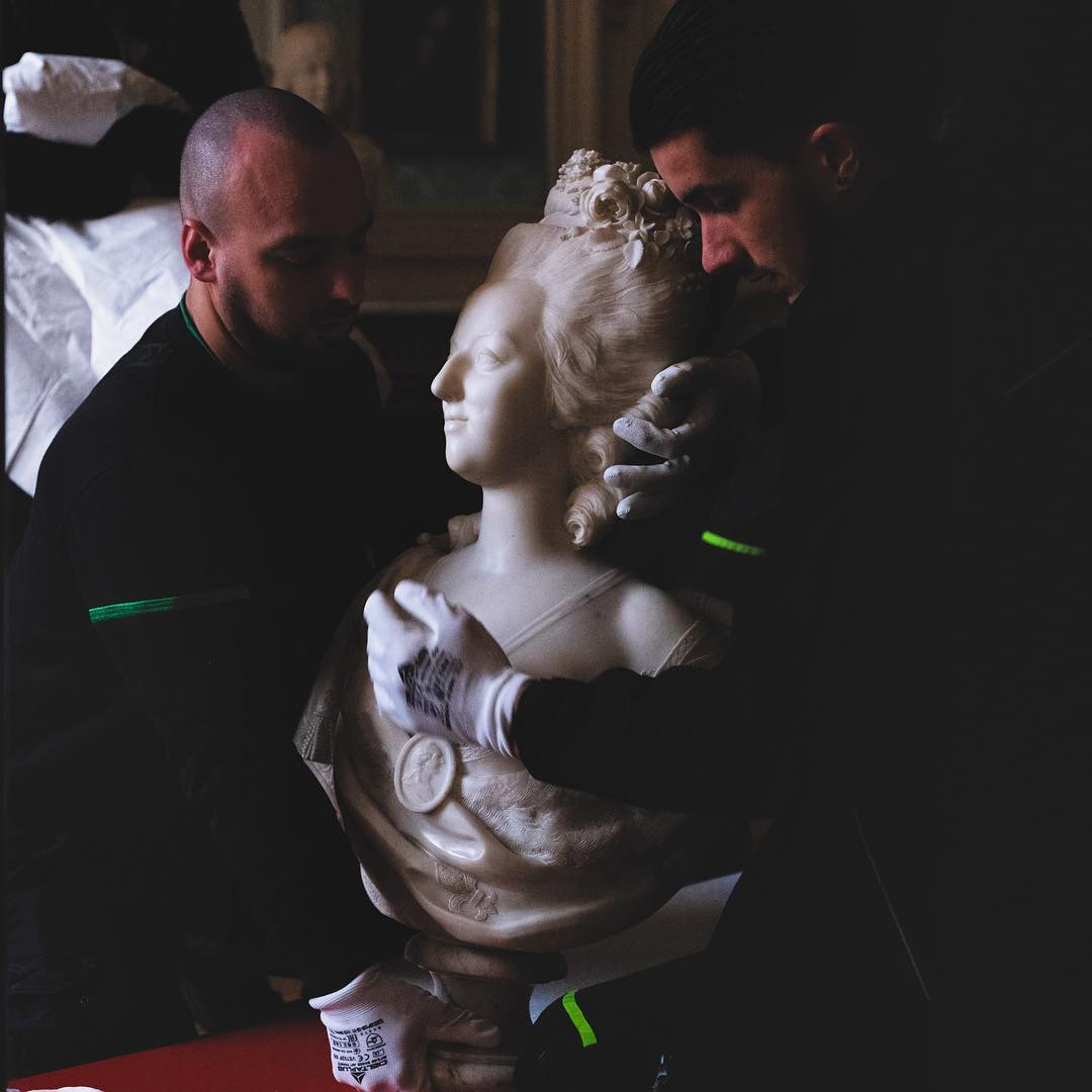 Busto de Maria Antonieta, Palácio de Versalhes, França
