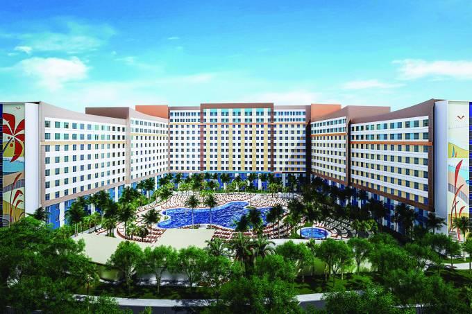 Endless Summer Resort, complexo da Universal Orlando