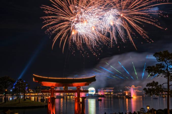 Show IllumiNations: Reflections of the Earth no Epcot