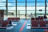 Sala de embarque do Aeroporto Ezeiza, Buenos Aires