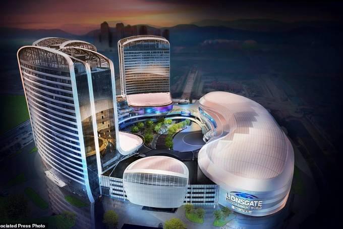 Lionsgate Entertainment World, parque na China