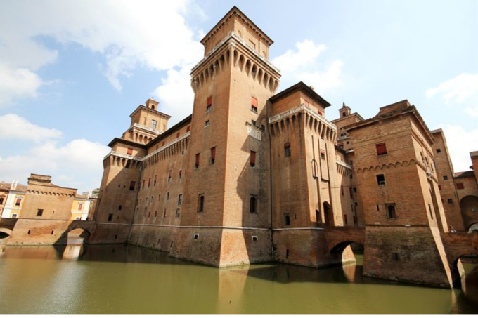 Castelo Estense, Ferrara, Emília-Romagna, Itália