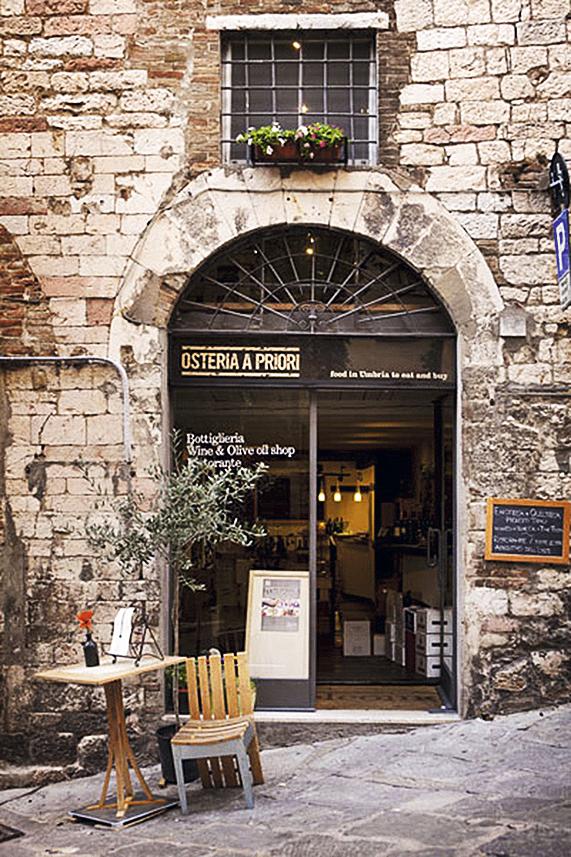 Osteria a Priori, Perúgia, Úmbria, Itália