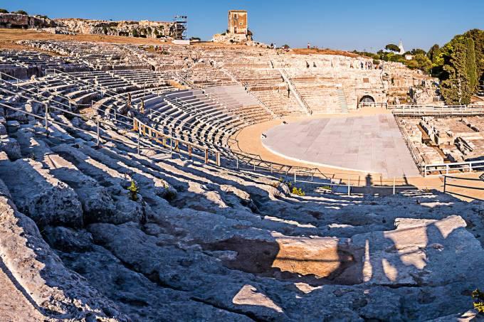 Teatro, Siracusa, Sicília, Itália