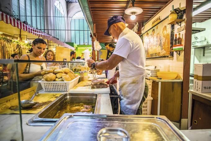 Mercado Centrale, Florença