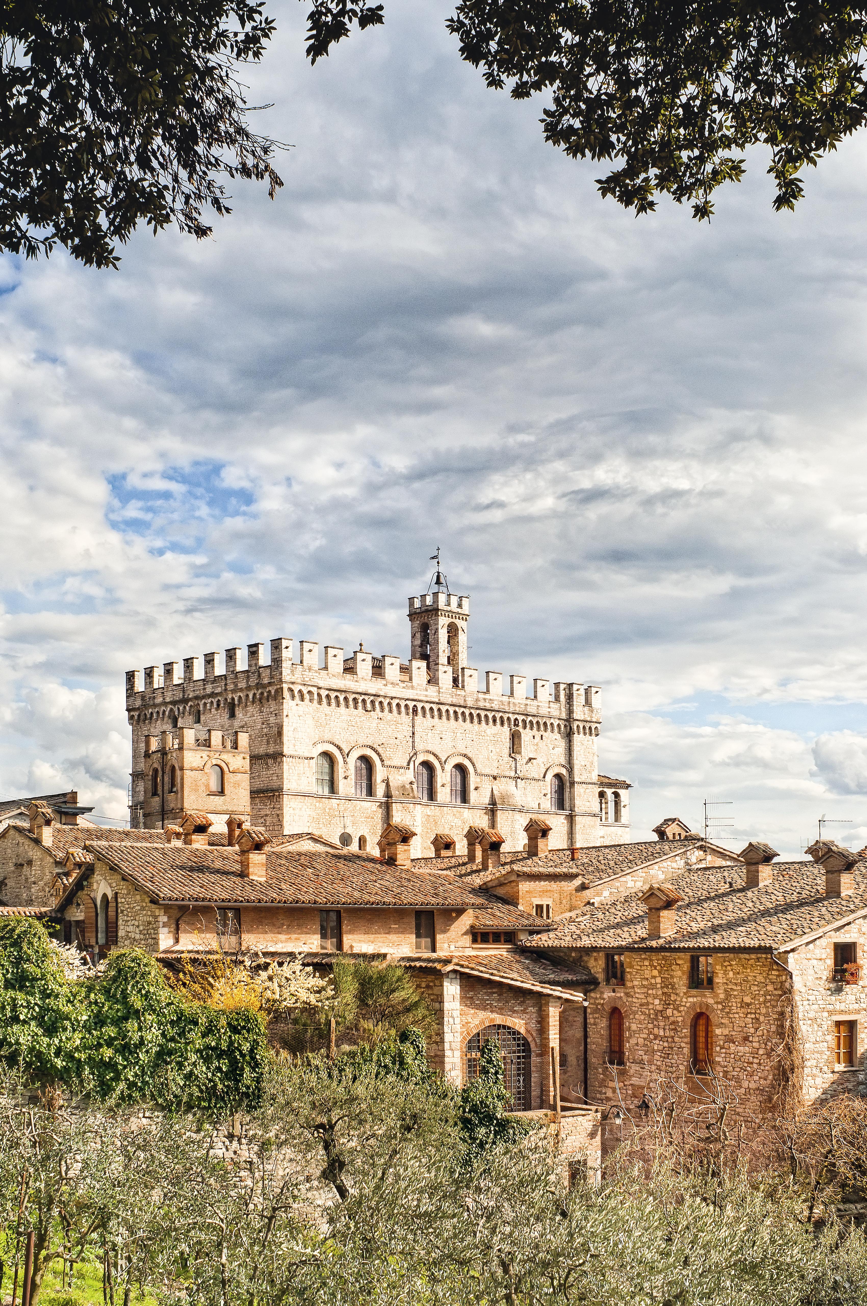 Palazzo dei Consoli, Gubbio, Úmbria, Itália