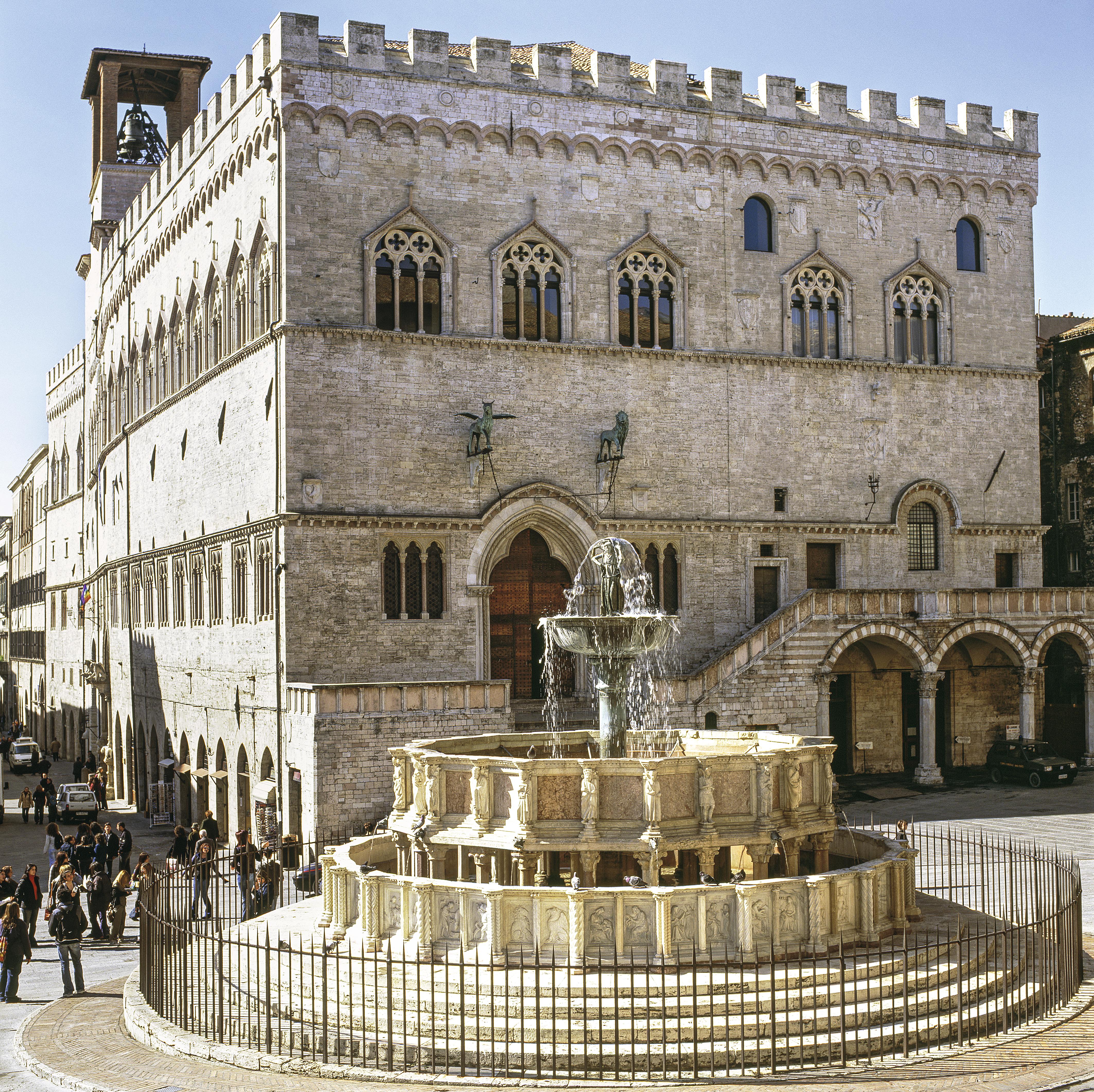 Fontana Maggiore, Perúgia, Úmbria, Itália