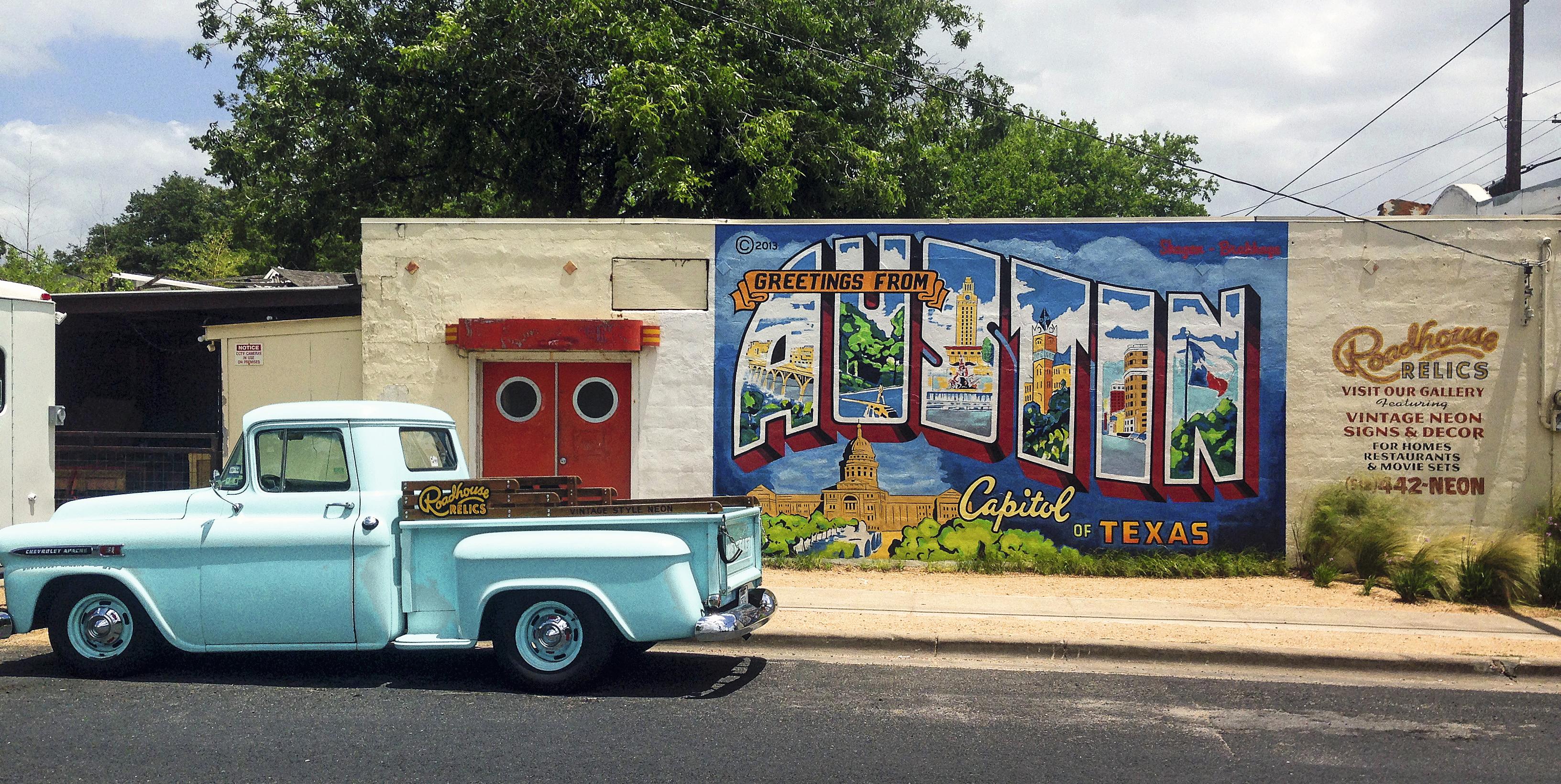 Muro Greetings from Austin