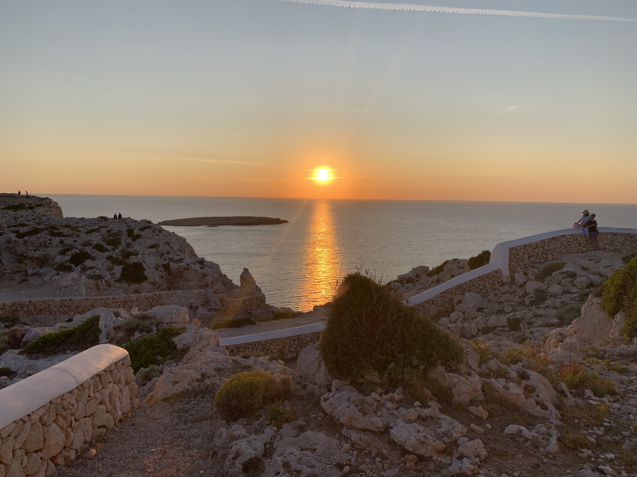 Nenhum filtro é capaz de superar a cor do mar (natural) de Menorca