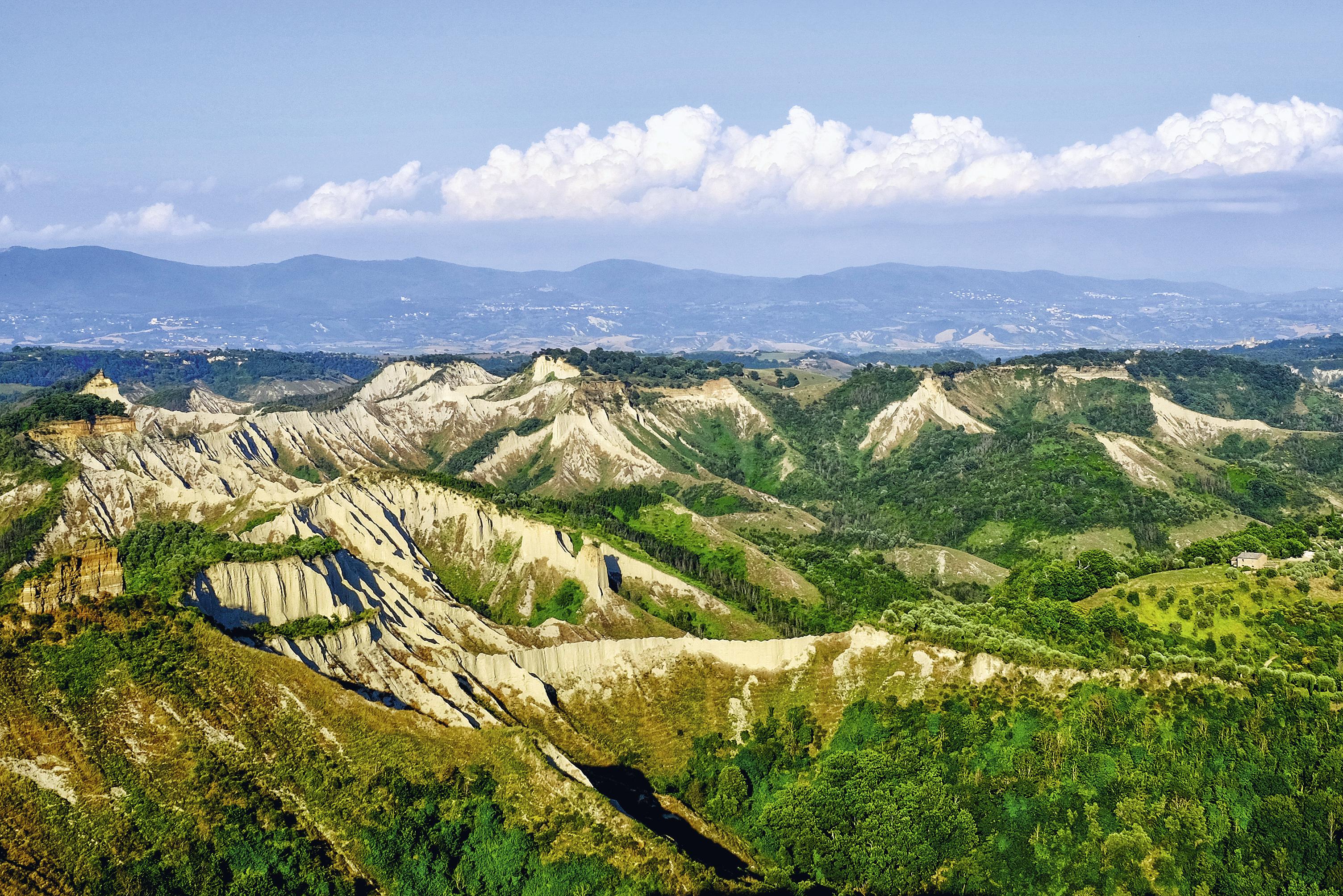 Valle dei Calanchi, Úmbria, Itália
