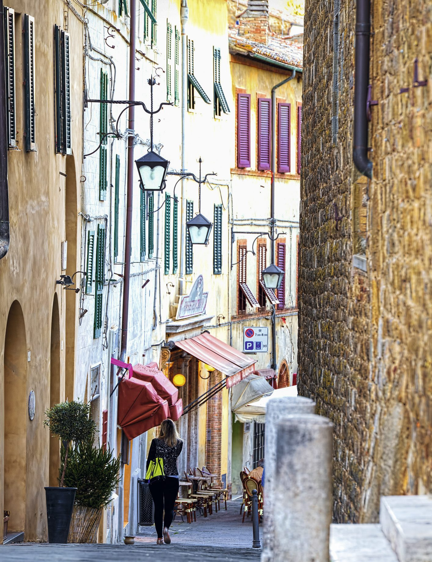 As cores do Centro de Montalcino
