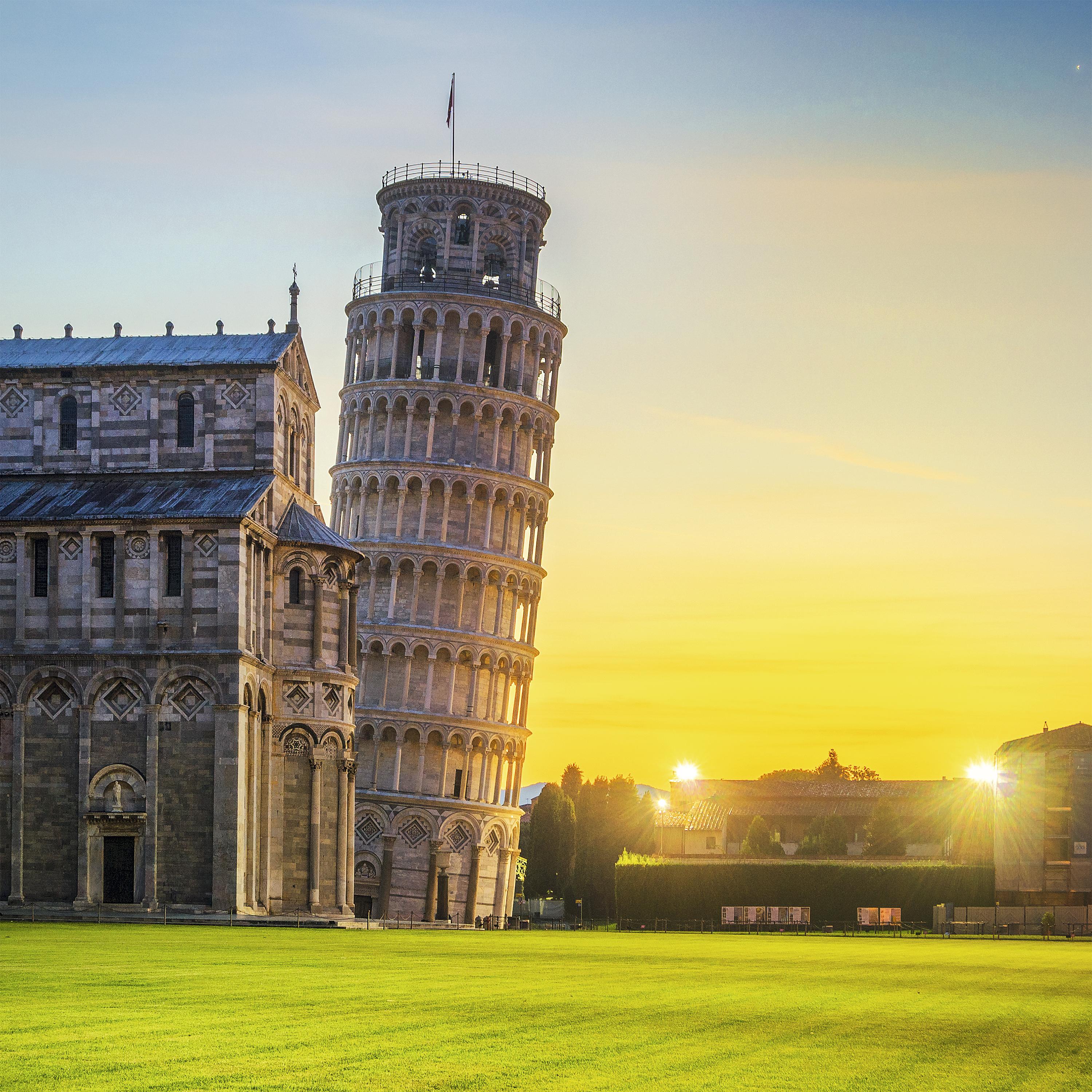A célebre Torre de Pisa