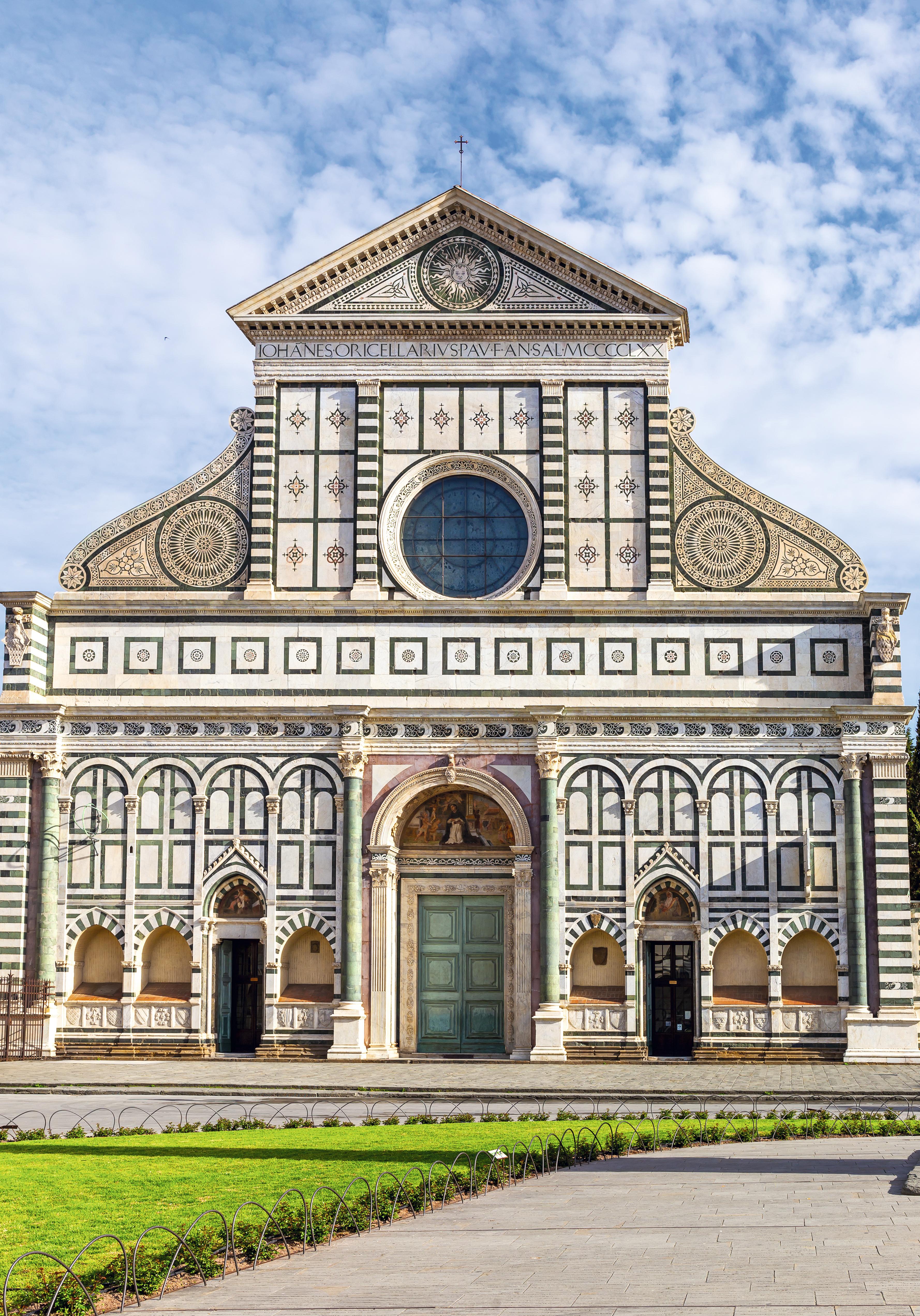 A Basilica di Santa Maria Novella, onde Galileo foi acusado de heresia