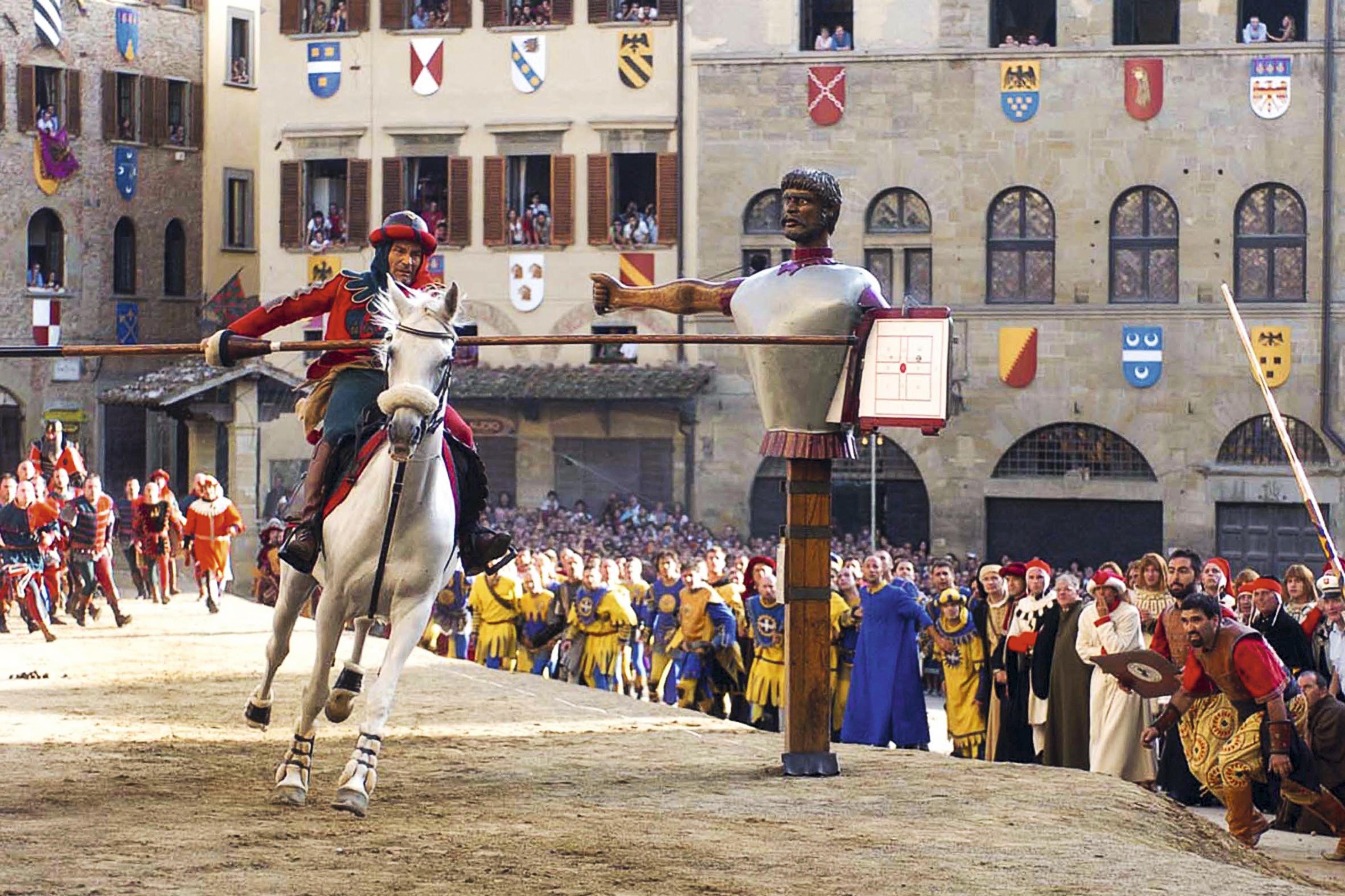 A festa medieval Giostra del Saracino