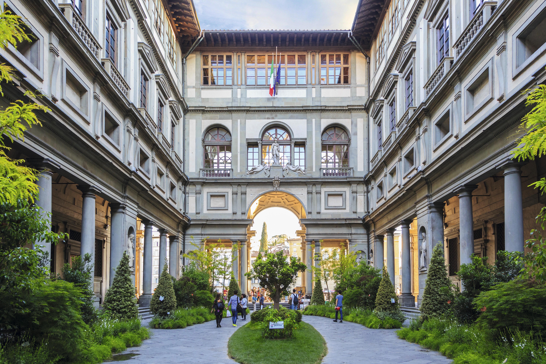A gloriosa Gallerie degli Uffizi