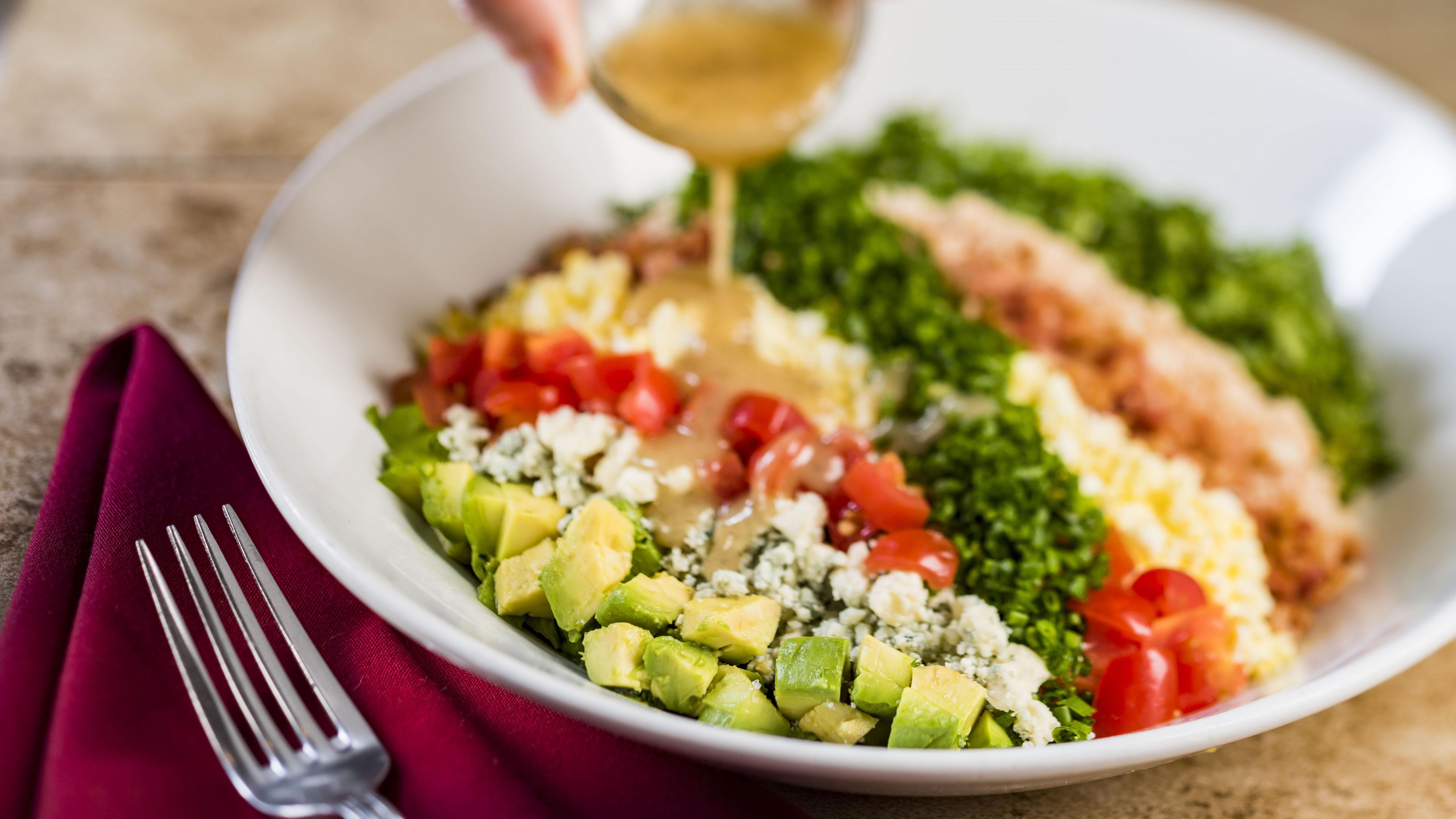 Salada Cobb do Hollywood Brown Derby, Epcot