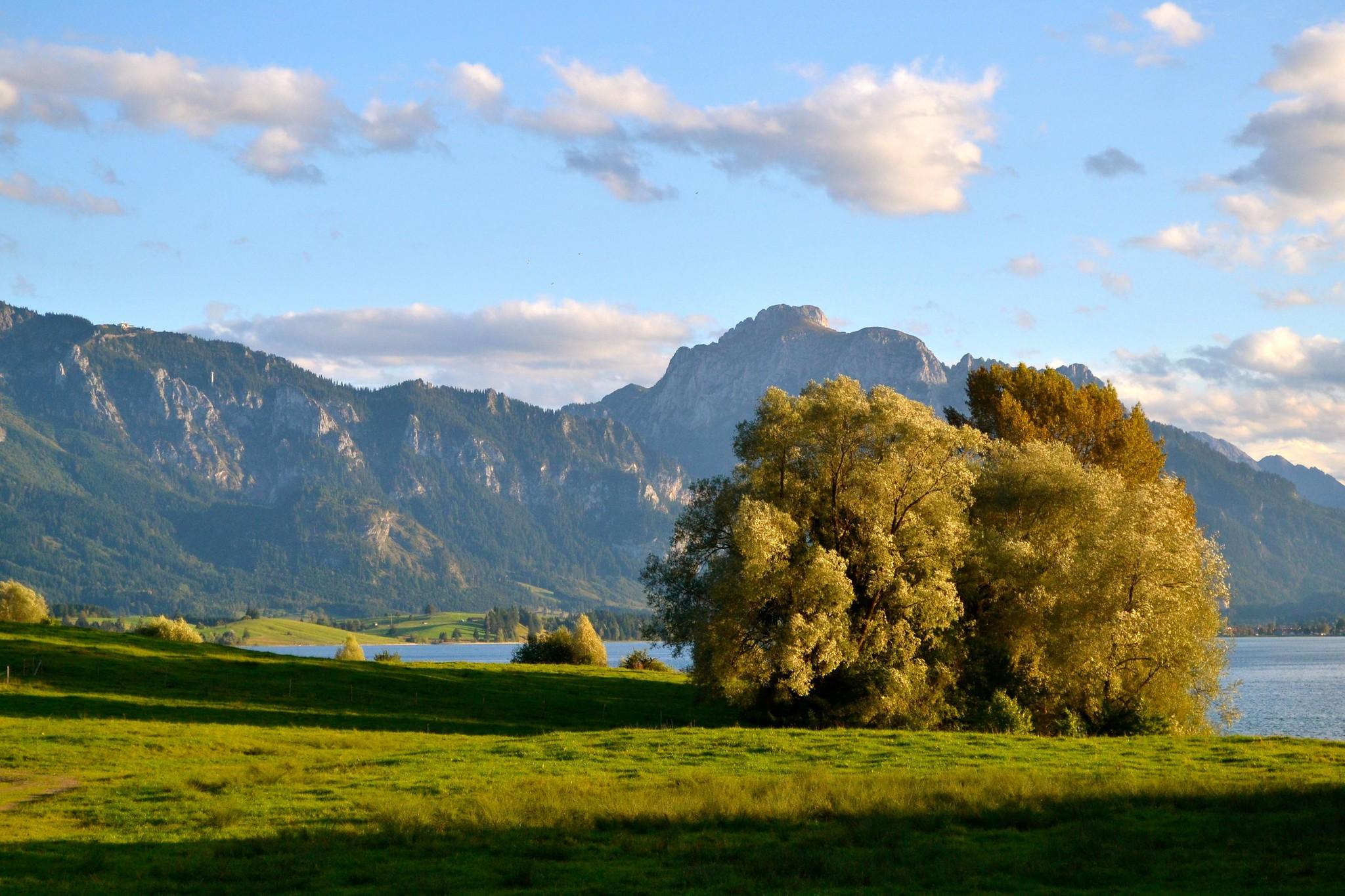Vista da Rota Romântica, Alemanha