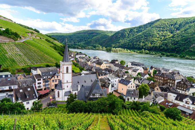 Assmanshausen, Hesse, Rüdesheim am Rhein, Alemanha