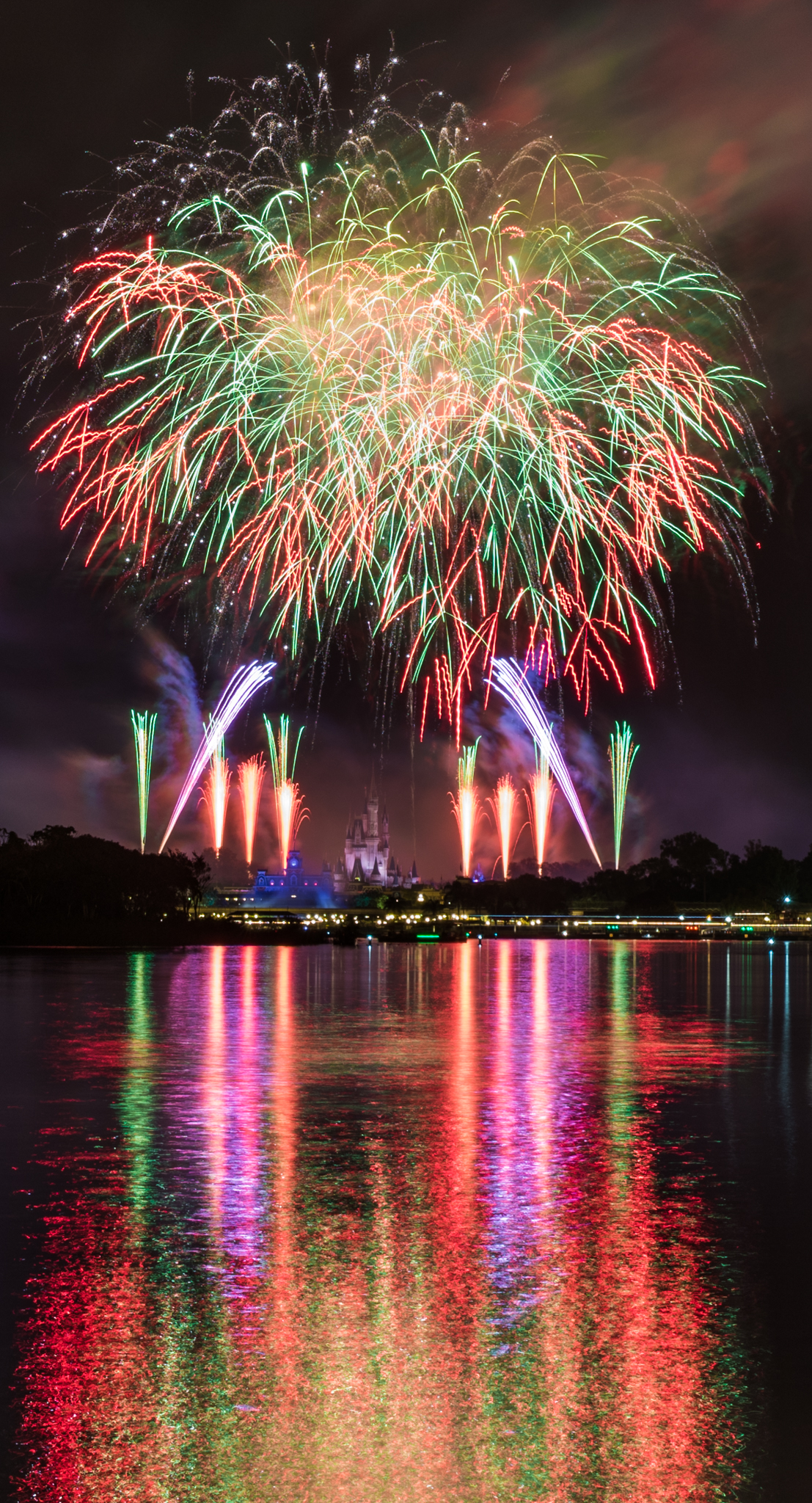 Fogos de artifício do Magic Kingdom