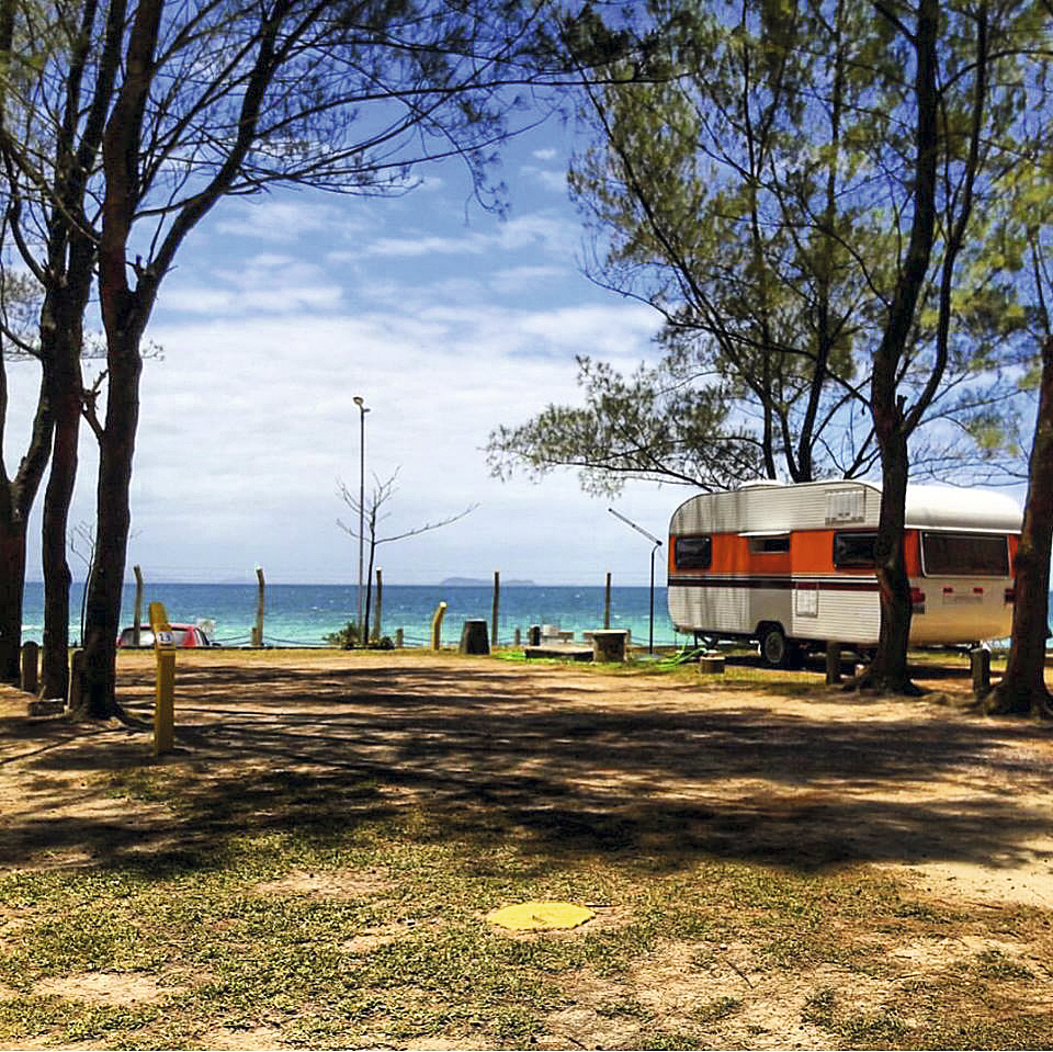 Camping Lagoamar, em Garopaba