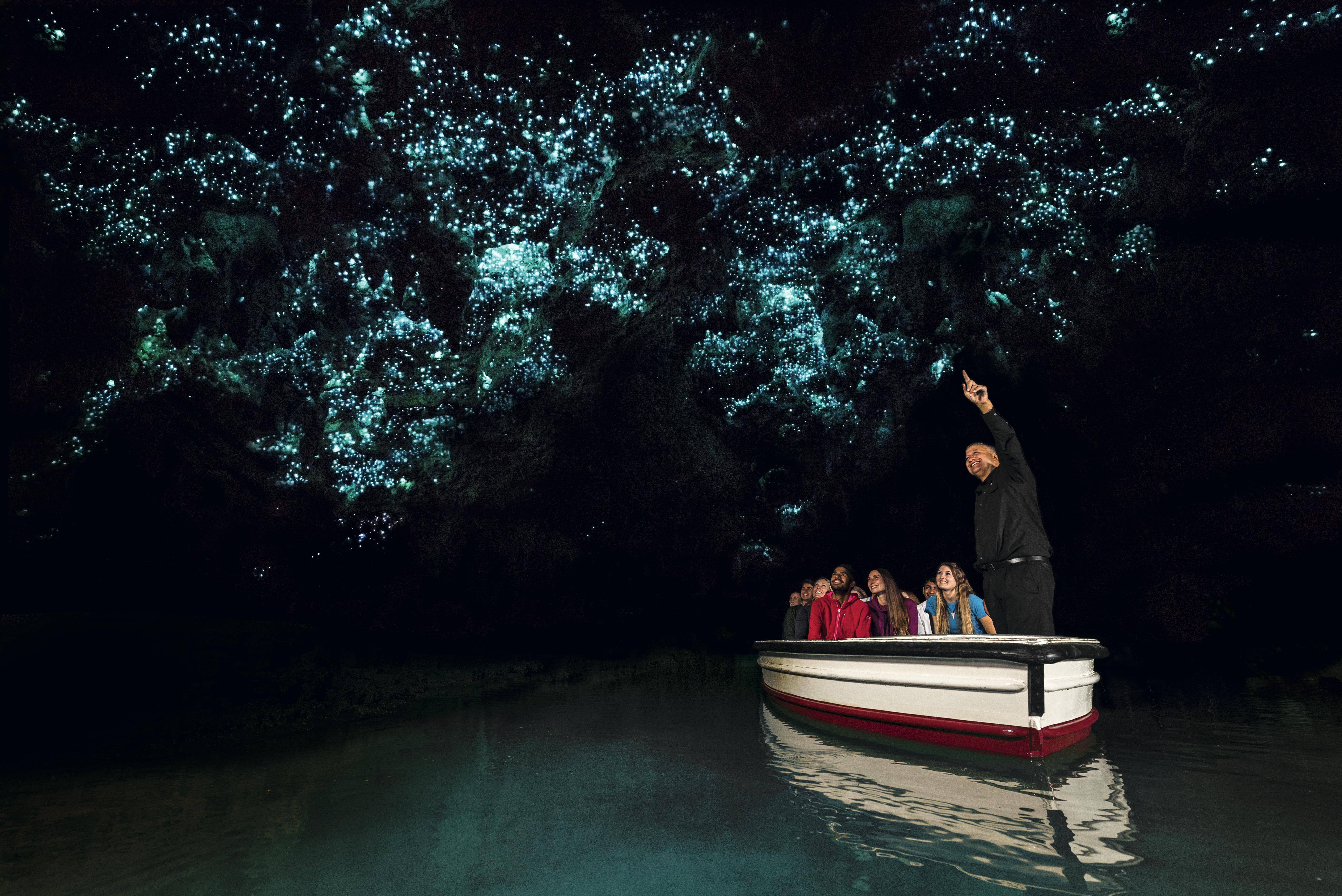 Caverna das Larvas Luminosas, Te Anau, Nova Zelândia