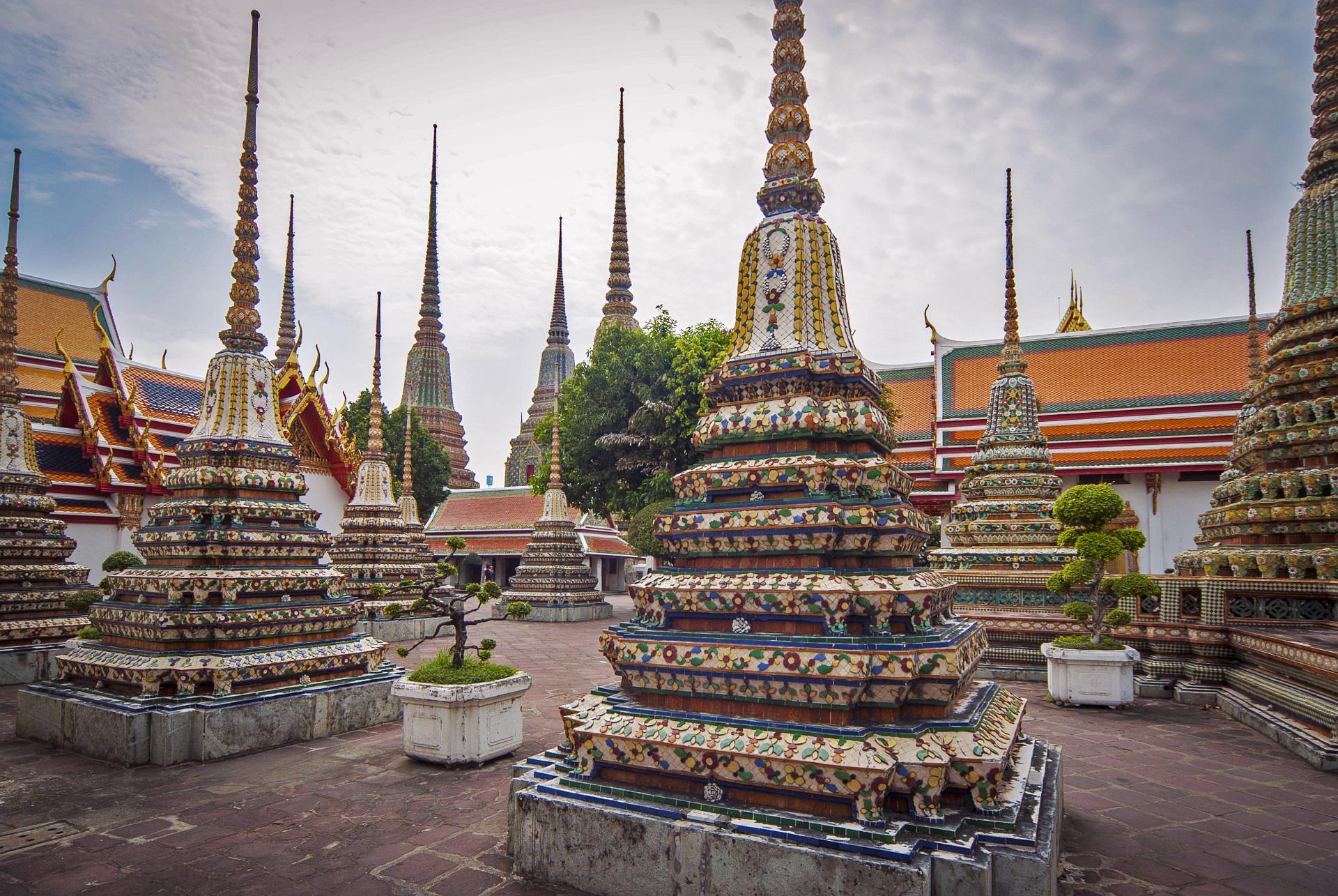 Monastério Wat Pho, o principal da cidade