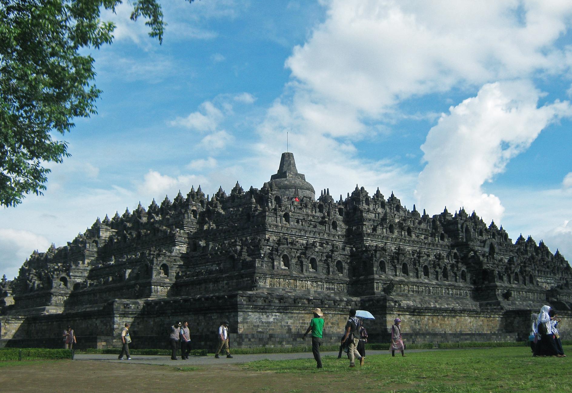 Templo em Borobudur