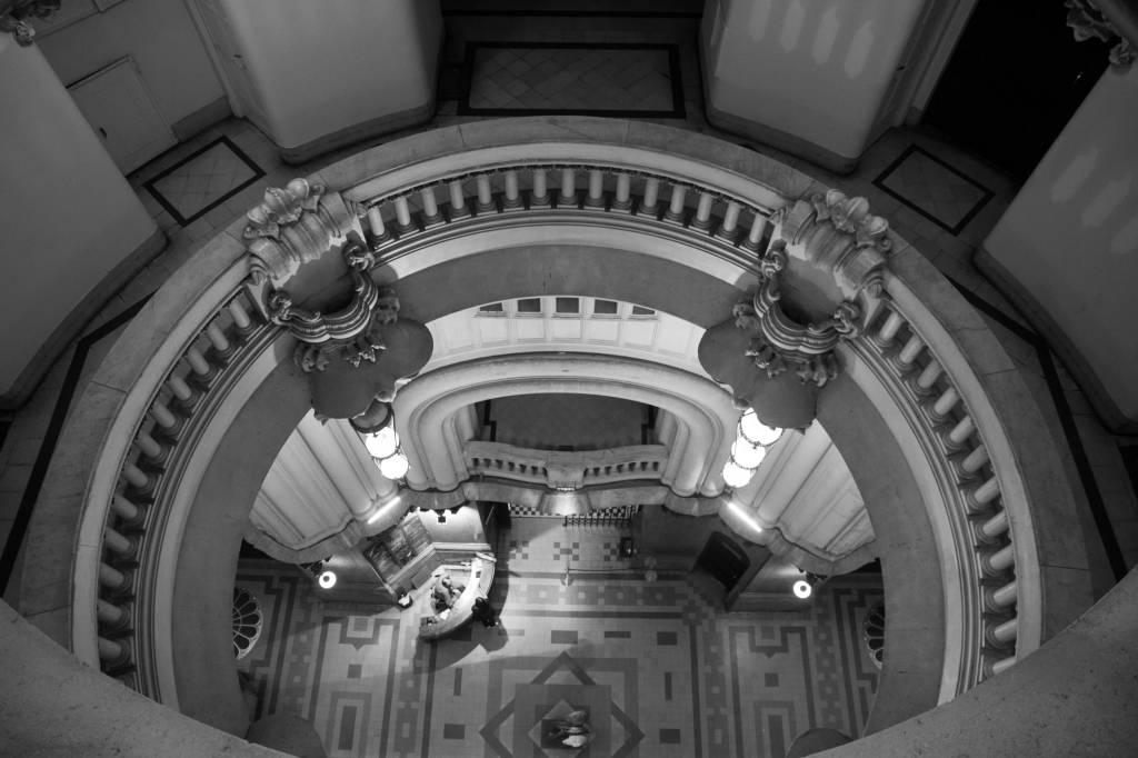 Interior do Edifício Barolo, Montserrat, Buenos Aires, Argentina