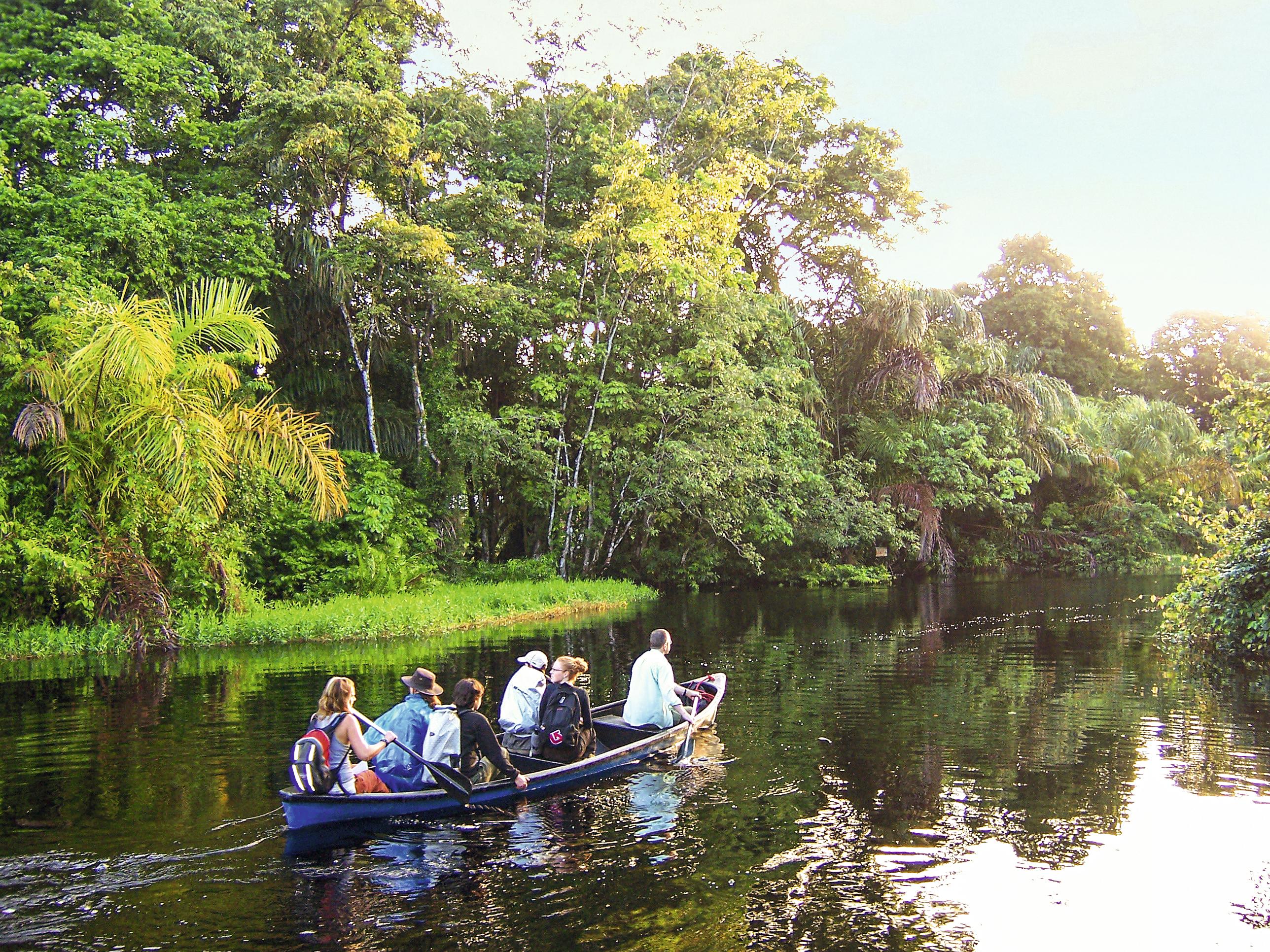 Parque Nacional de Tortuguero, na Costa Rica
