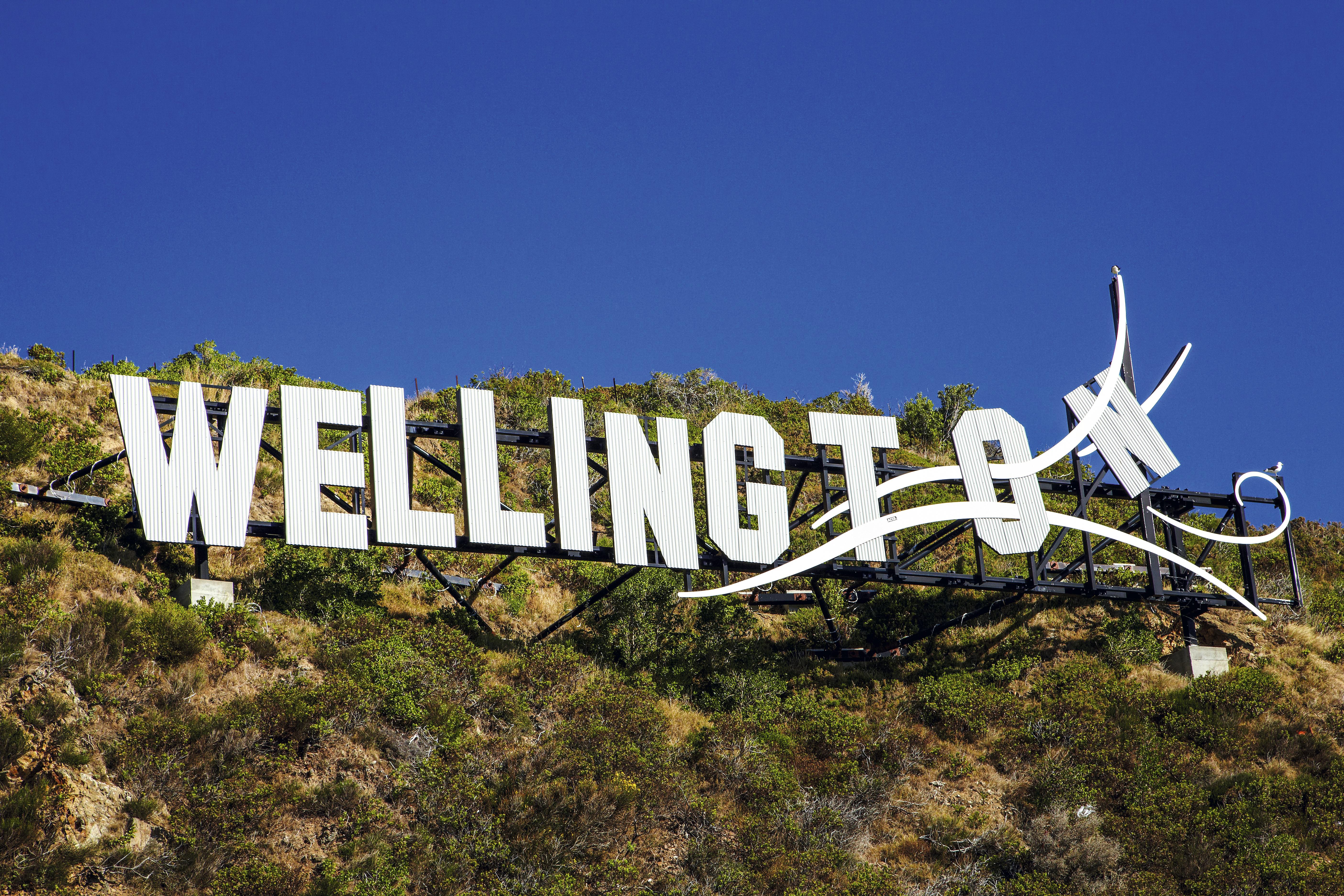Letreiro de Wellington, Nova Zelândia