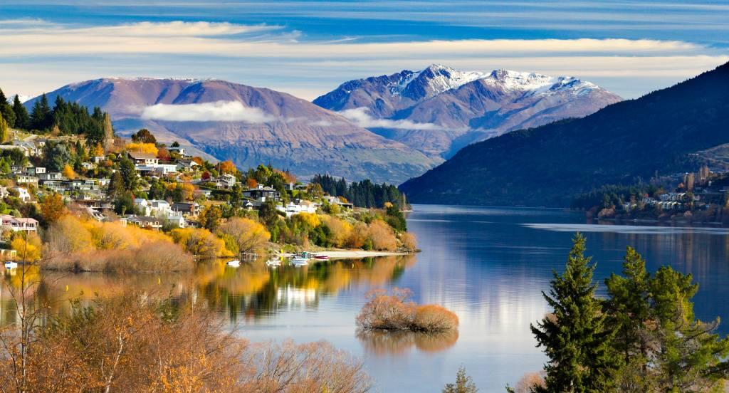 Queenstown no Outono, Nova Zelândia
