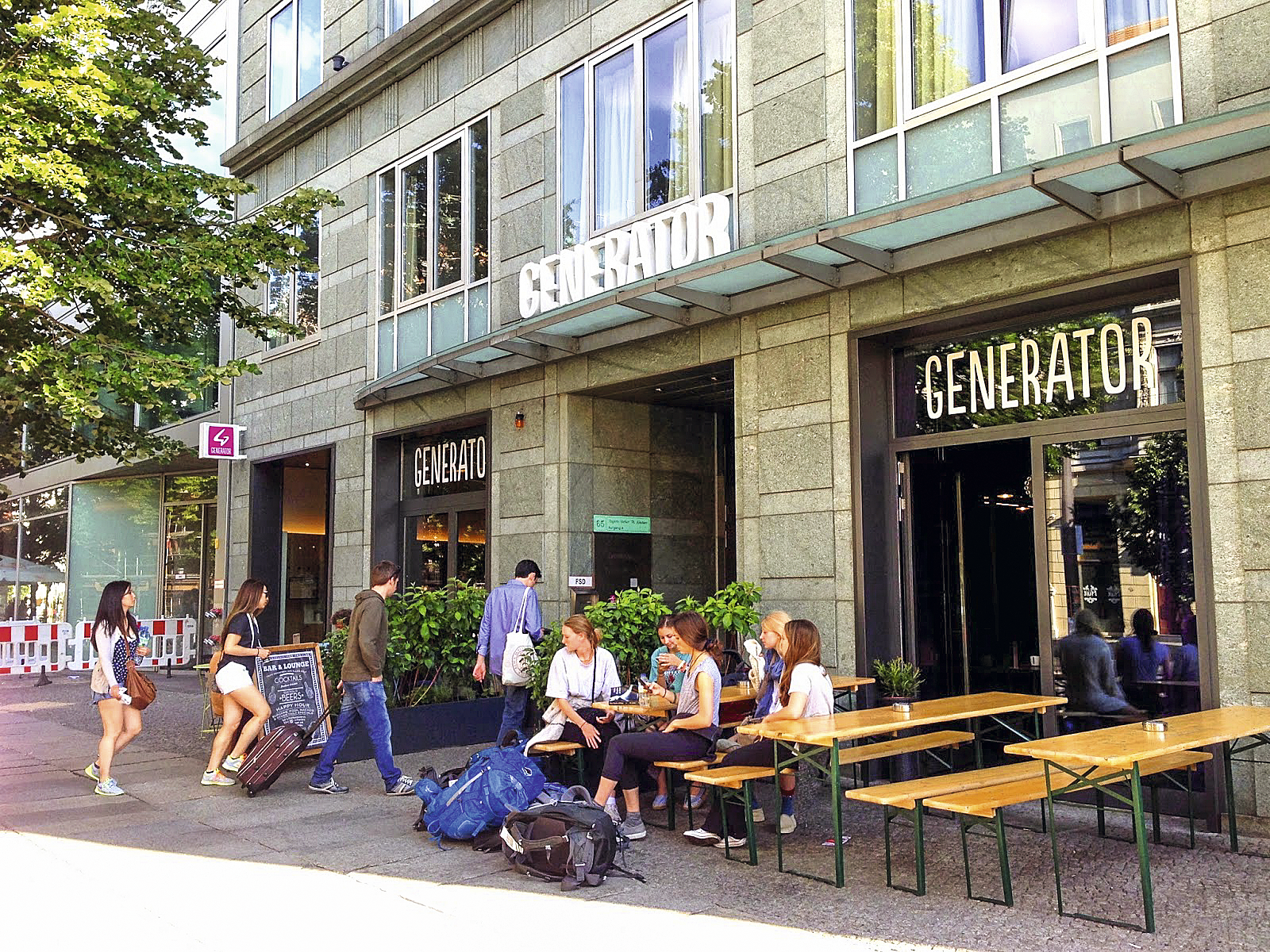Hostel Generator Mitte, em Berlim