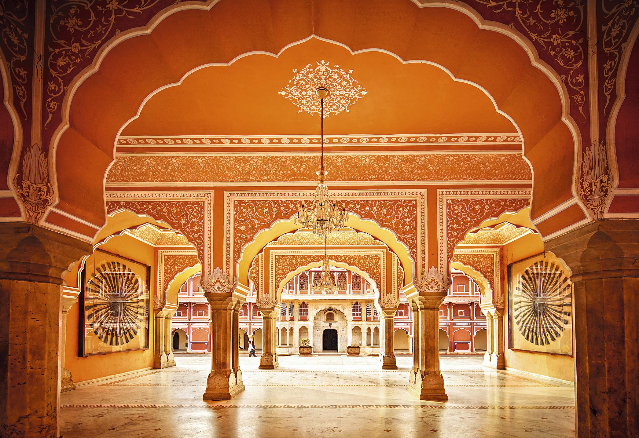 Fortaleza Amber, em Jaipur
