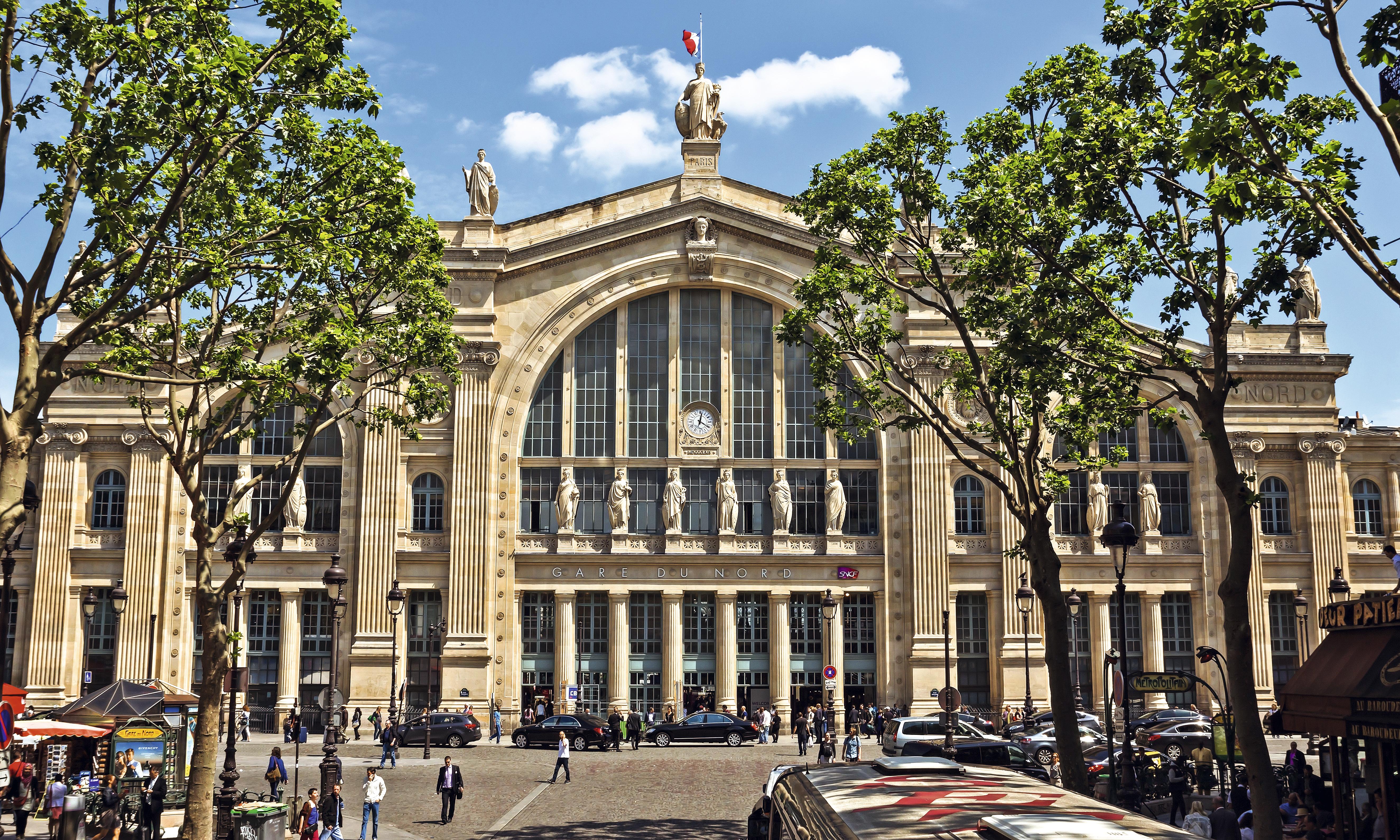 Estação de trem Gare du Nord, em Paris