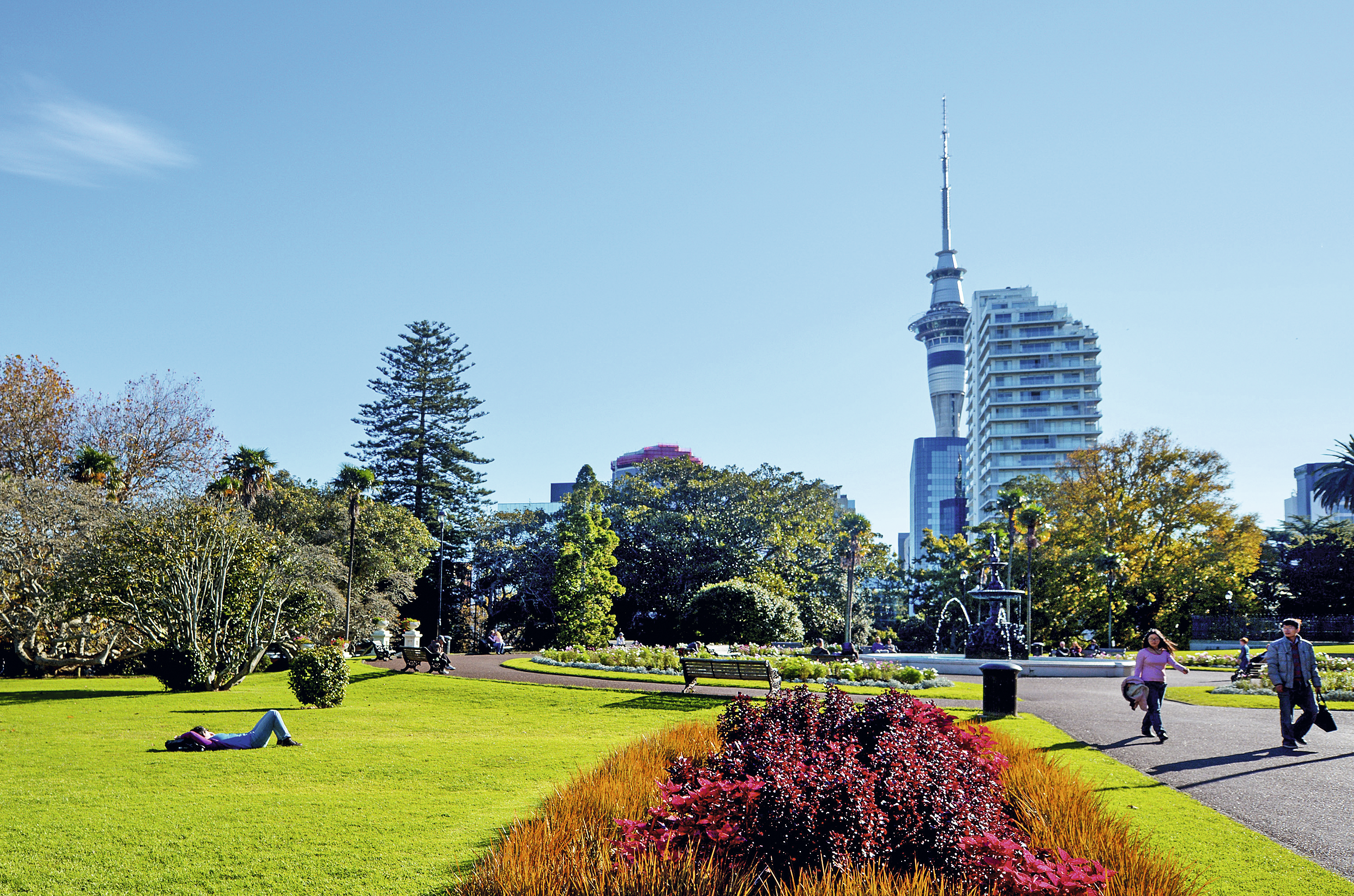 Albert Park, Auckland, Nova Zelândia