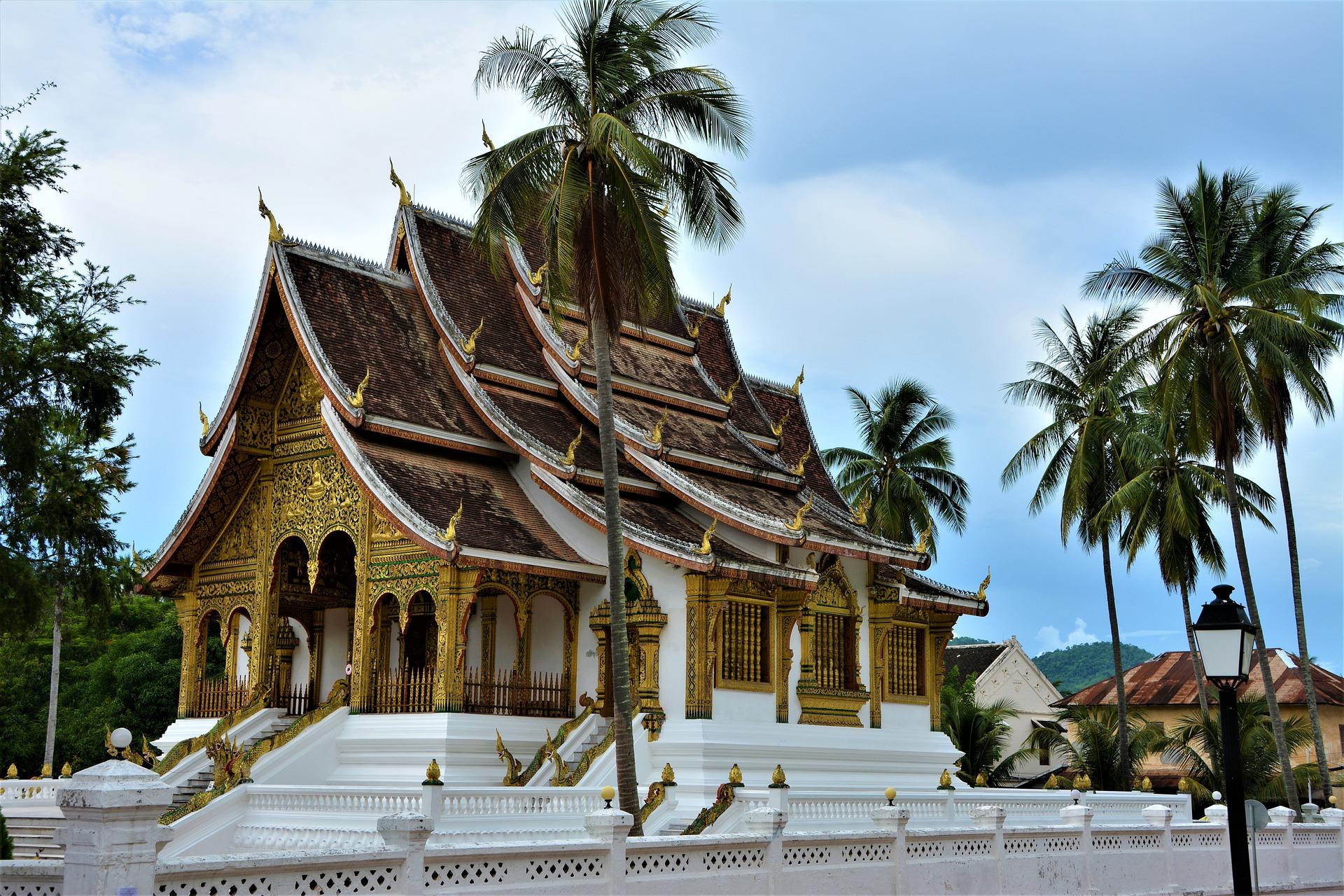 Palácio Real em Luang Prabang