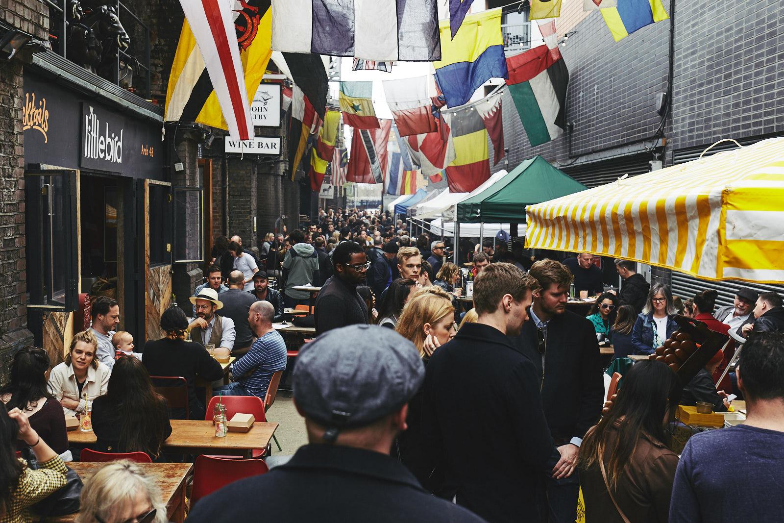 Maltby Street Market, Londres, Inglaterra