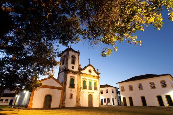 Igreja de Santa Rita, Paraty, Rio de Janeiro, Brasil