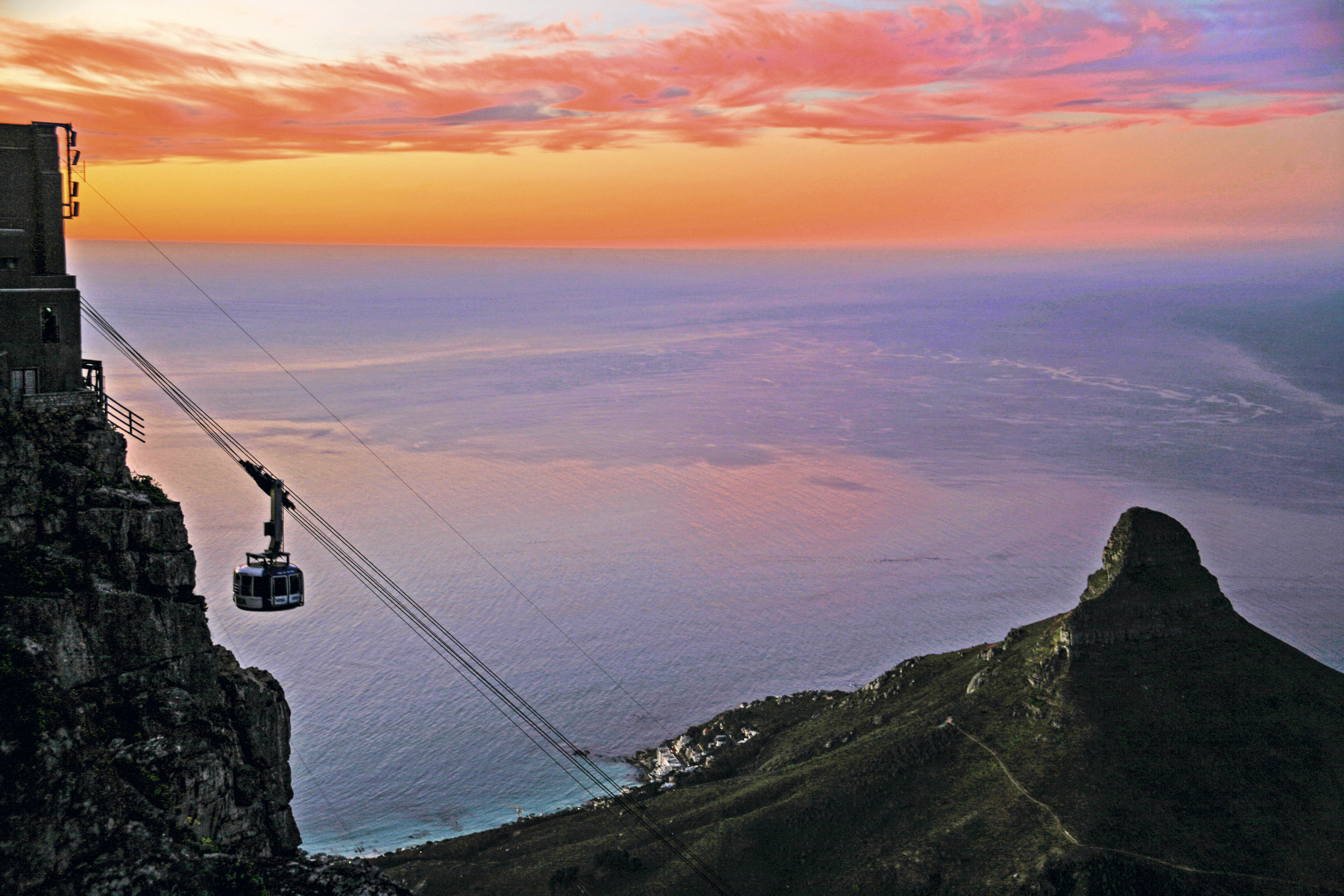 Teleférico de Table Mountain, África do Sul