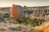 Passeio de balão, Capadócia, Turquia