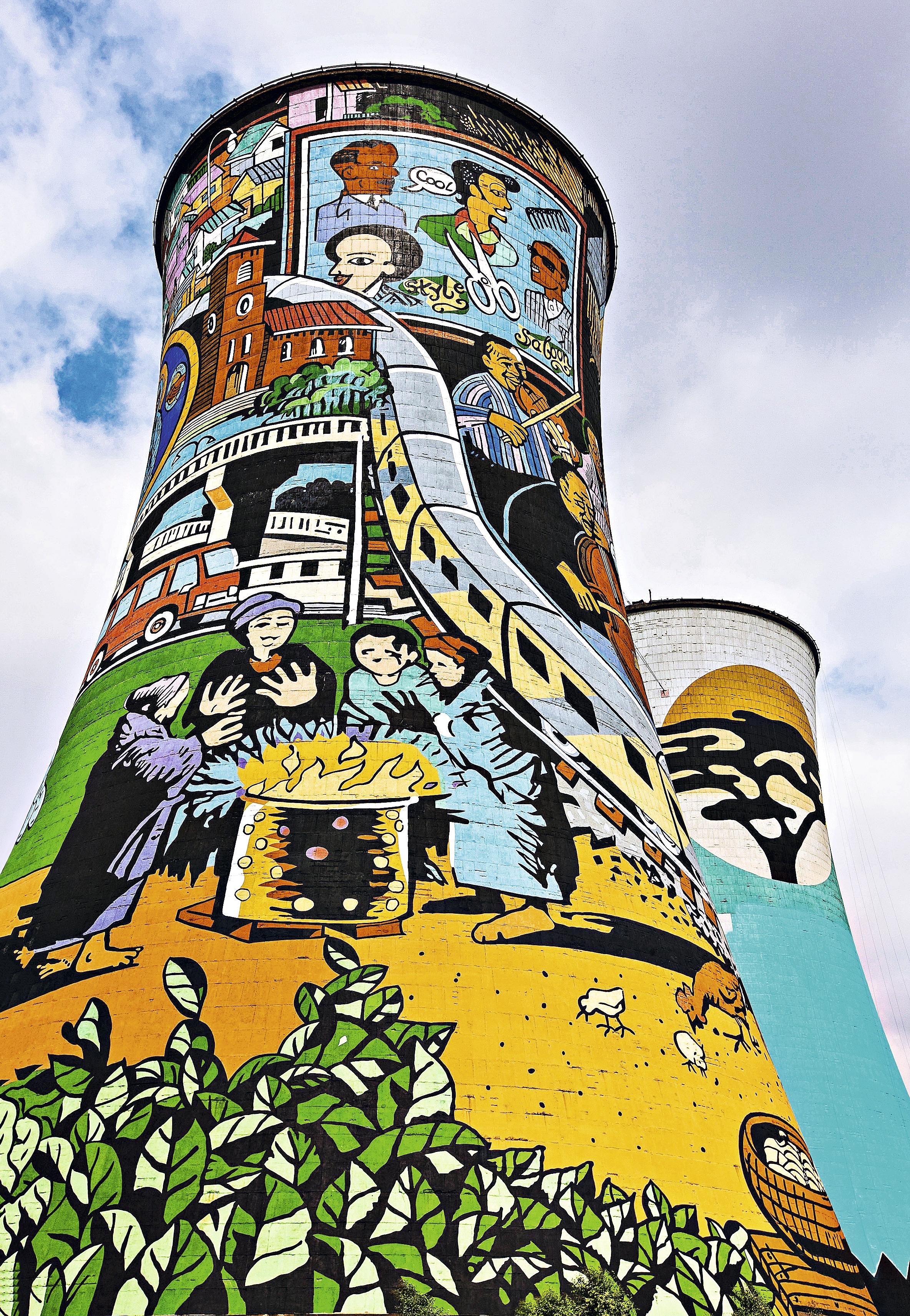 Orlando Towers, Johanesburgo, África do Sul