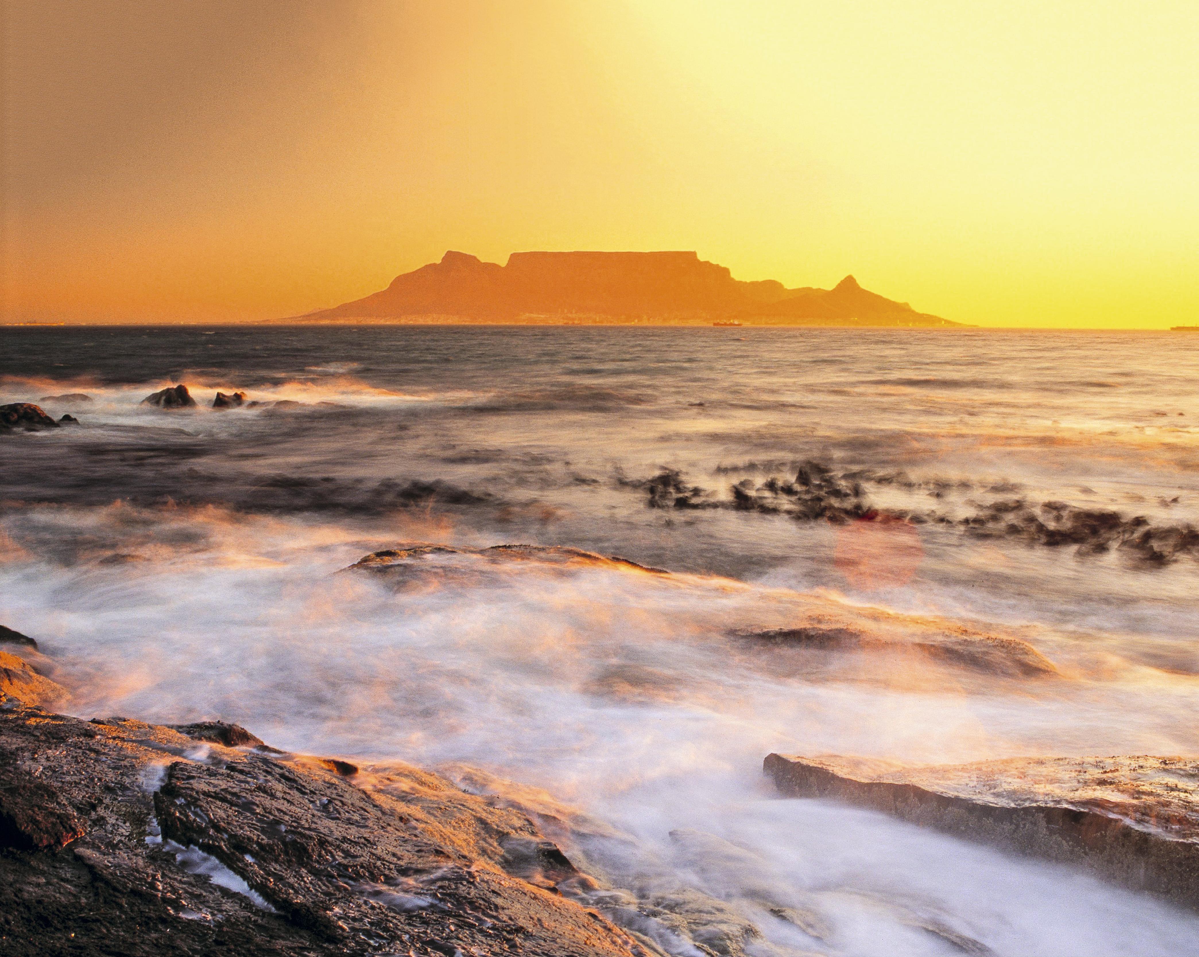 Table Mountain, Cidade do Cabo, África do Sul