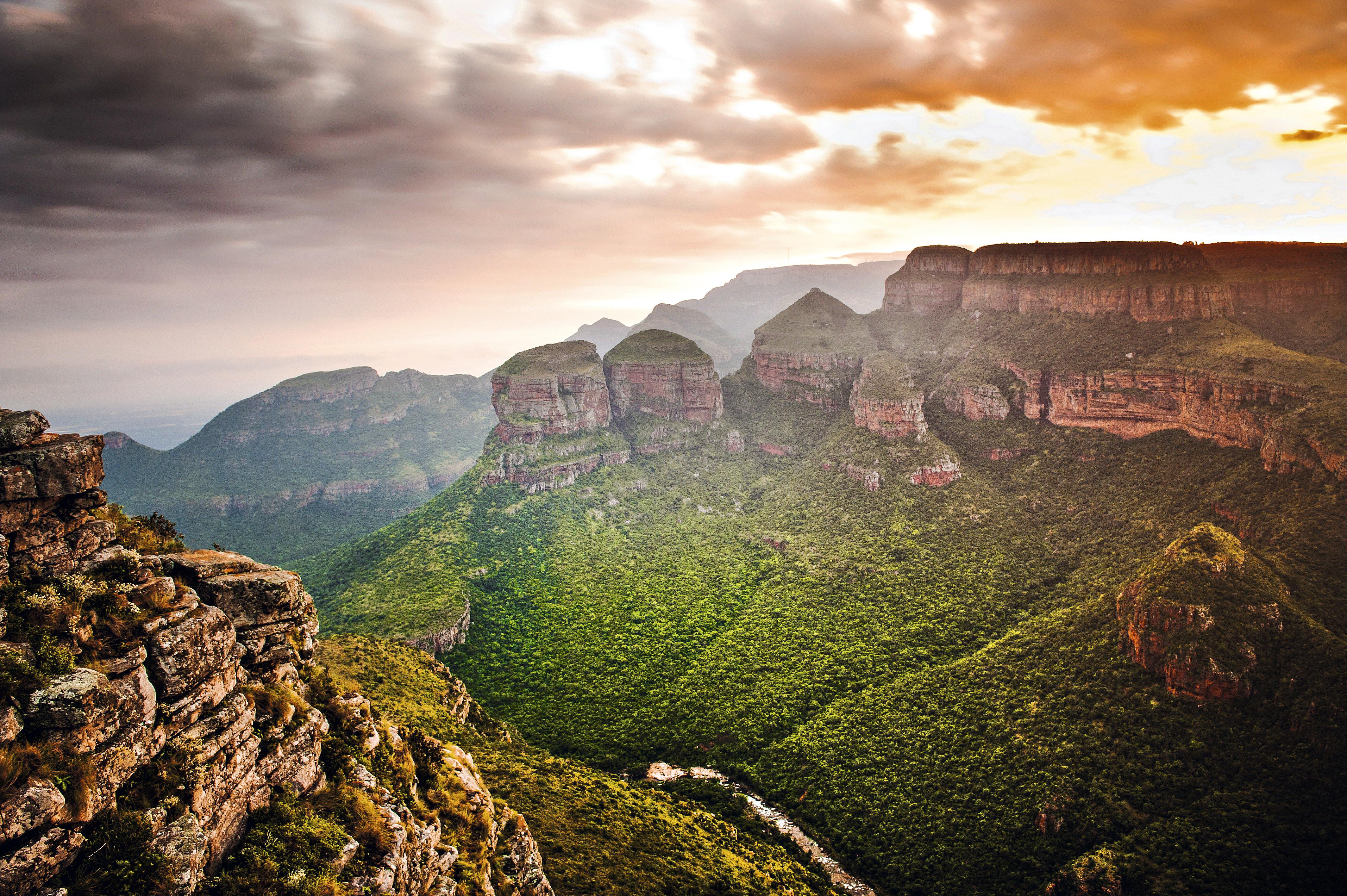Three Rondavels, África do Sul
