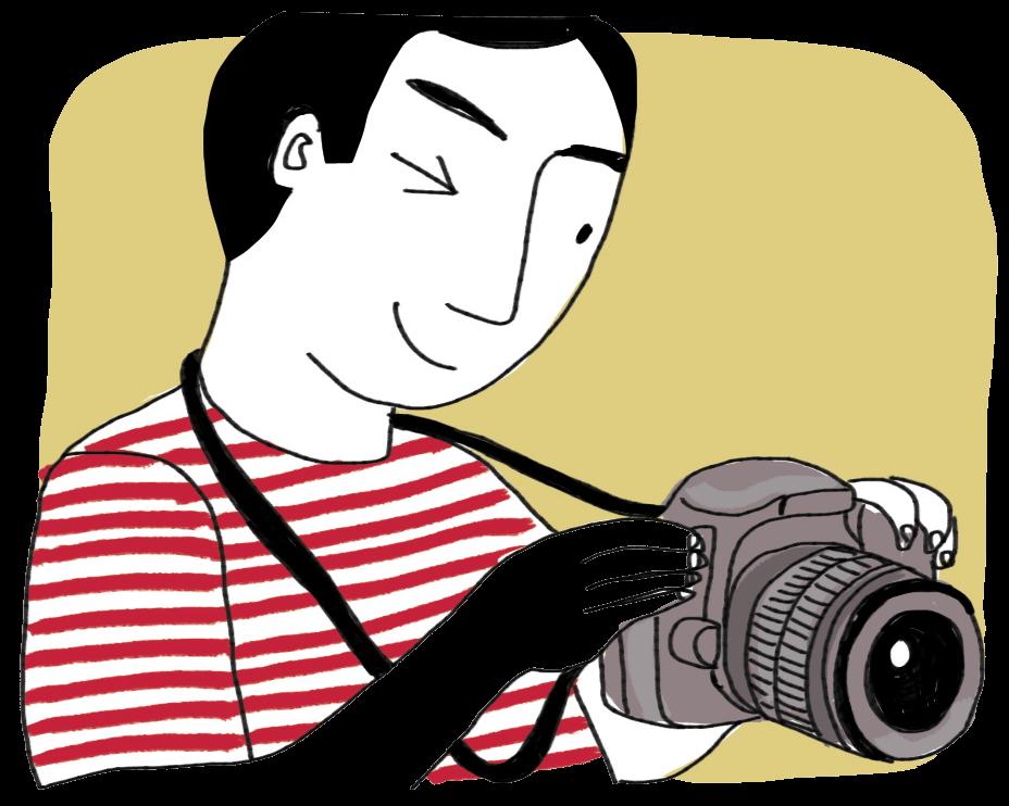 Câmeras Fotografo, logo existo