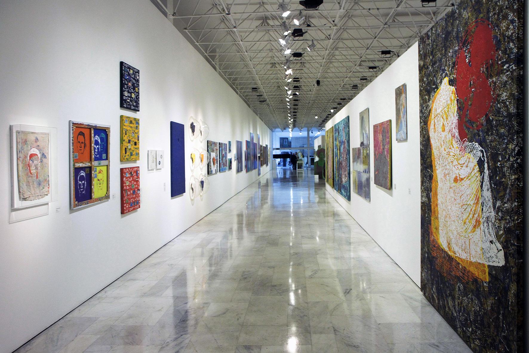 Corredor do Palácio das Artes, Belo Horizonte, Minas Gerais, Brasil