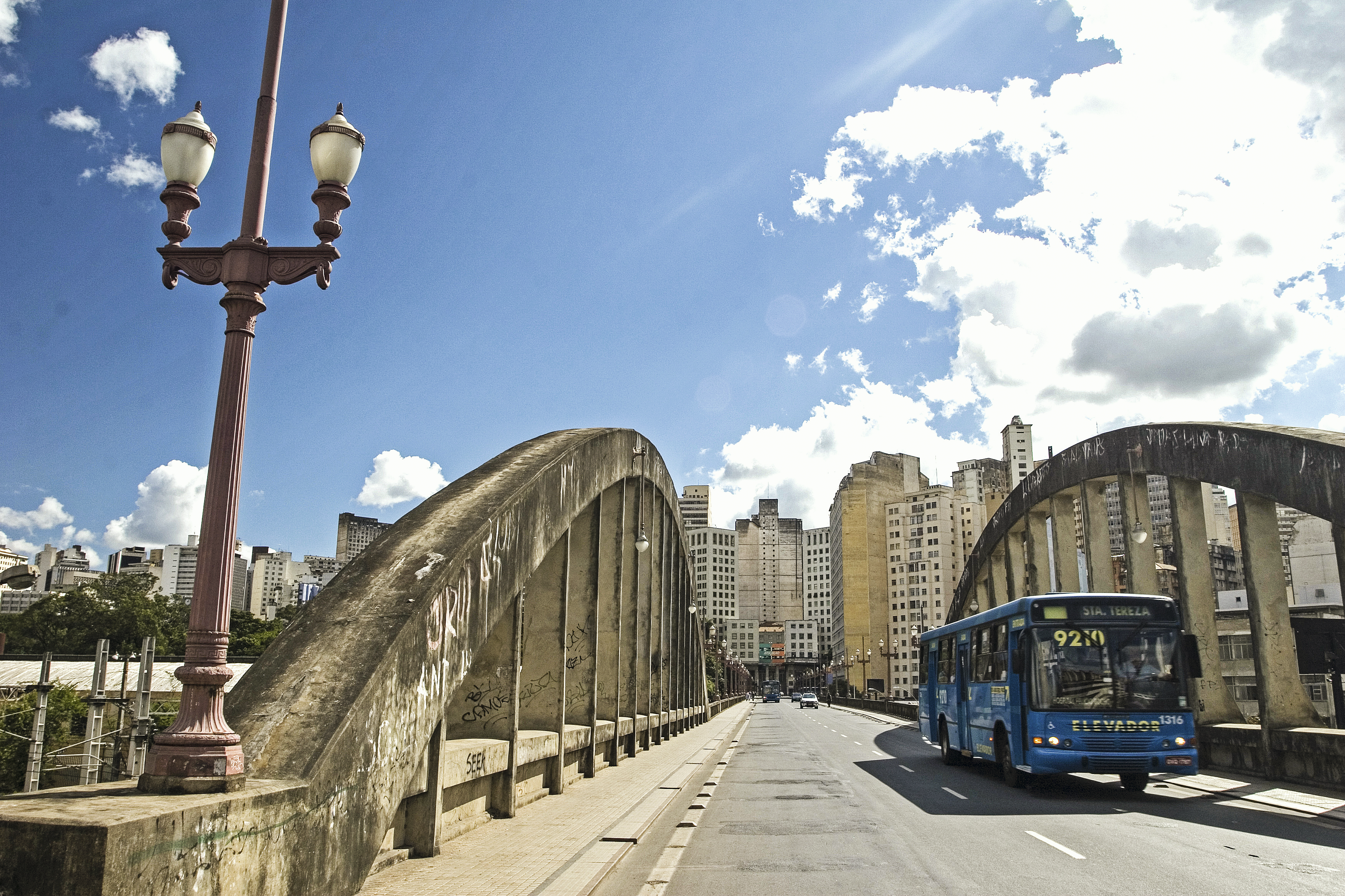 Viaduto Santa Tereza, Belo Horizonte, Minas Gerais, Brasil