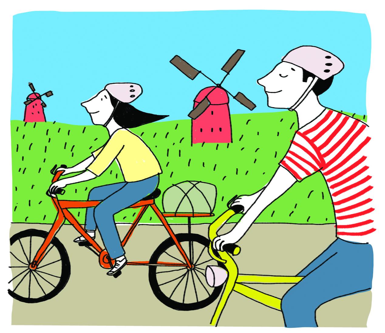 Bicicleta Fotografo, logo existo