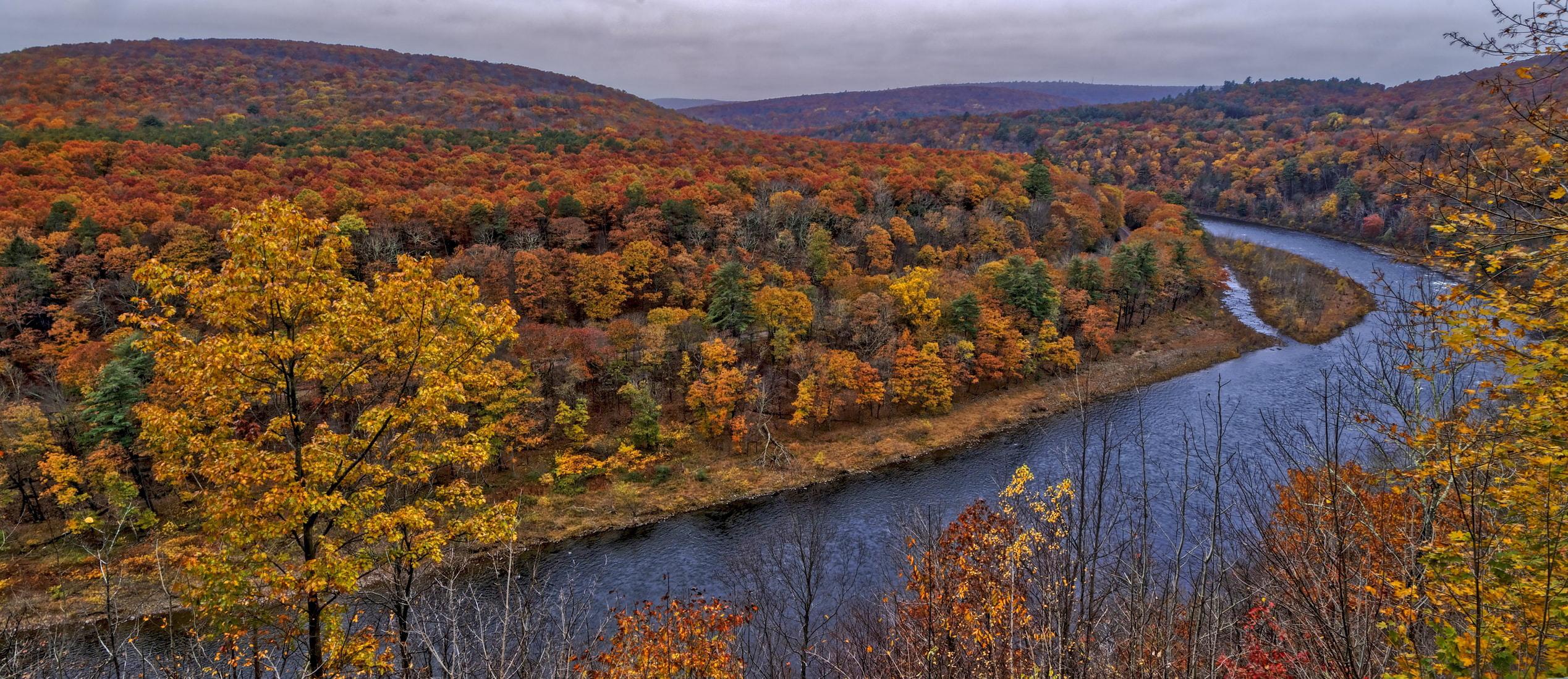 Região de Catskills, no estado de Nova York. Crédito: